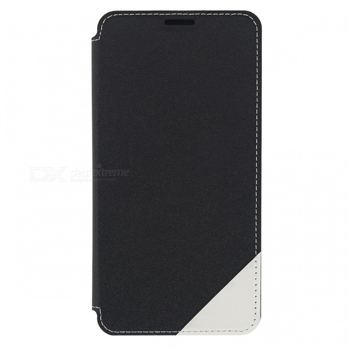 DOOGEE PU + Plastic Flip-Open Case for DOOGEE Y6 / Y6C - BlackLeather Cases<br>Form  ColorBlackModelY6 / Y6CMaterialPU Leather + PlasticQuantity1 DX.PCM.Model.AttributeModel.UnitShade Of ColorBlackCompatible ModelsDOOGEE Y6 / Y6CPacking List1 * Protective case1 * Tempered Glass Screen Protector<br>