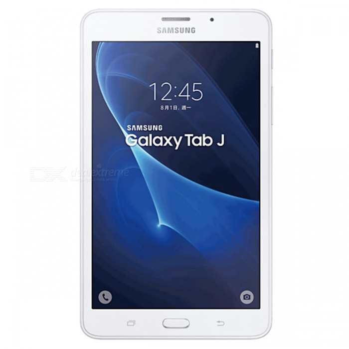 Samsung Galaxy Tab J SM-T285YD 7.0 1.5GB RAM 8GB ROM Dual SIM - WhiteAndroid Tablets<br>Form  ColorWhiteBrandOthers,SamsungModelSM-T285YDQuantity1 DX.PCM.Model.AttributeModel.UnitMaterialGlass + MetalShade Of ColorWhiteProcessor BrandOthers,SpreadtrumProcessor ModelOthers,SC9830AProcessor Speed1500 DX.PCM.Model.AttributeModel.UnitNumber of CoresQuad CoreGPUARM Mali-400RAM/Memory TypeDDR3 SDRAMBuilt-in Memory / RAMOthers,1.5GBCapacity / ROM8GBScreen Size7.0 inchesScreen Size7 inches &amp; UnderScreen TypeOthers,Not specifyTouch TypeCapacitive screenResolutionOthers,1280 * 7203G TypeOthers,UMTS3G Frequency Range850,900,19003G Function3G Phone call,Surf the Internet4G standardFDD-LTEOperating SystemAndroid 5.1LTE Band Support2100 MHz,2600 MHz,900 MHz2G Frequency RangeGSM850, GSM900, GSM1800, GSM1900Supported NetworkWifi,Built-in 3GGravity SensorOthers,Not specifyWi-Fi StandardIEEE 802.11 b/g/nBluetooth VersionBluetooth V4.0MicrophoneYesBuilt-in SpeakersYesInterfaceOthers,Not specifyUSB ChargeYesGoogle Play(Android Market)YesCamera type1 x CameraBack Camera Pixels8M DX.PCM.Model.AttributeModel.UnitStorage InterfaceOthers,Not specifyButtonHome,Sound,PowerImagesOthers,Not specifyE-bookOthers,Not specifyVideo FormatsOthers,Not specifyExternal Memory Max. Support8 DX.PCM.Model.AttributeModel.UnitMicrophone JackNoPower AdapterOthers,USBTip DiameterOthers,Not specifySupported LanguagesOthers,Not specifyBattery Capacity4000 DX.PCM.Model.AttributeModel.UnitWorking Time- DX.PCM.Model.AttributeModel.UnitStandby Time- DX.PCM.Model.AttributeModel.UnitCharging Time- DX.PCM.Model.AttributeModel.UnitPacking List1 * SM-T285YD1 * USB cable1 * Charger1 * User manual<br>