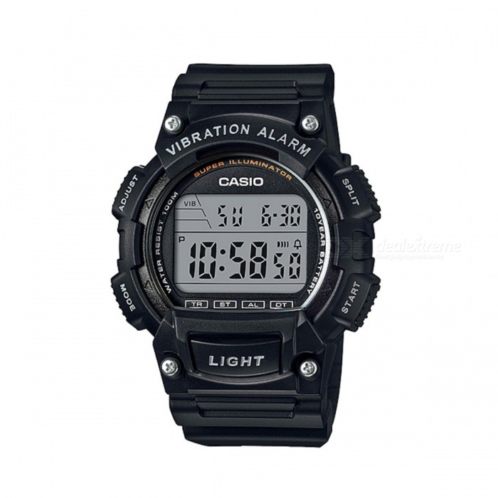 Casio W-736H-1AVDF Digital Watch - Black (Without Box)Sport Watches<br>Form  ColorBlackModelW-736H-1AVDFQuantity1 DX.PCM.Model.AttributeModel.UnitShade Of ColorBlackCasing MaterialResinWristband MaterialResinSuitable forAdultsGenderMenStyleWrist WatchTypeSports watchesDisplayDigitalMovementQuartzDisplay Format12/24 hour time formatWater ResistantWater Resistant 10 ATM or 100 m. Suitable for recreational surfing, swimming, snorkeling, sailing and water sports.Dial Diameter4.71 DX.PCM.Model.AttributeModel.UnitDial Thickness1.61 DX.PCM.Model.AttributeModel.UnitWristband Length22 DX.PCM.Model.AttributeModel.UnitBand Width1.9 DX.PCM.Model.AttributeModel.UnitBatteryCR2032Packing List1 x W-736H-1AVDF<br>
