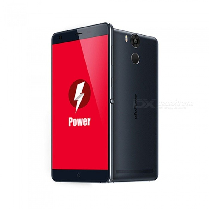 Ulefone Power Octa-core Dual SIM Phone 3GB RAM + 16GB ROM - Dark BlueAndroid Phones<br>Form ColorDeep BlueRAM3GBROM16GBBrandUlefoneModelPowerQuantity1 pieceMaterialPVCShade Of ColorBluePower AdapterEU PlugTime of Release2016Network Type2G,3G,4GBand Details2G: GSM 850/900/1800/1900 MHz (band5, band8, band3, band2); 3G: WCDMA 900/2100 MHz (band8, band1); 4G:LTE 800/900/1800/2100/2600 (band20, band8, band3, band1, band7)Data TransferLTEWLAN Wi-Fi 802.11 b,g,nSIM Card TypeStandard SIM,Micro SIMSIM Card Quantity2Network StandbyDual Network StandbyGPSYes,A-GPS,GLONASSBluetooth VersionBluetooth V4.0Operating SystemAndroid 6.0CPU Processor64 Bit MTK6753 Octa-coreCPU Core QuantityOcta-CoreGPUMali T720LanguageIndonesian, Malay, Catalan, Czech, Danish, German, Estonian, English, Spanish, Filipino, French, Croatian, Italian, Latvian, Lithuanian, Hungarian, Dutch, Norwegian, Polish, Portuguese, Romanian, Slovak, Finnish, Swedish, Vietnamese, Greek, Turkish, Bulgarian, Russian, Serb, Ukrainian, Armenian, Hebrew, Urdu, Arabic, Persian, Hindi, Bengali, Thai, Korean, Burmese, Japanese, Simplified Chinese, Traditional ChineseAvailable Memory10GBMemory CardTFMax. Expansion Supported64GBSize Range5.5 inches &amp; OverTouch Screen TypeYesScreen Resolution1920*1080Screen Size ( inches)5.5Camera Pixel13.0MPFront Camera Pixels5 MPVideo Recording ResolutionSony IMX214FlashYesTalk Time7 hoursStandby Time500 hoursBattery Capacity6050 mAhfeaturesWi-Fi,GPS,FM,Bluetooth,OTGSensorG-sensor,Proximity,Compass,Accelerometer,Gesture,Heart rate,Fingerprint authentication sensorWaterproof LevelIPX0 (Not Protected)I/O InterfaceMicro USBRadio TunerFMReference Websites== Will this mobile phone work with a certain mobile carrier of yours? ==Packing List1 x Ulefone Power phone1 x Quick charger1 x USB cable1 x Multiple Languages manual1 x Screen protector1 x OTG cable1 x Earphone<br>