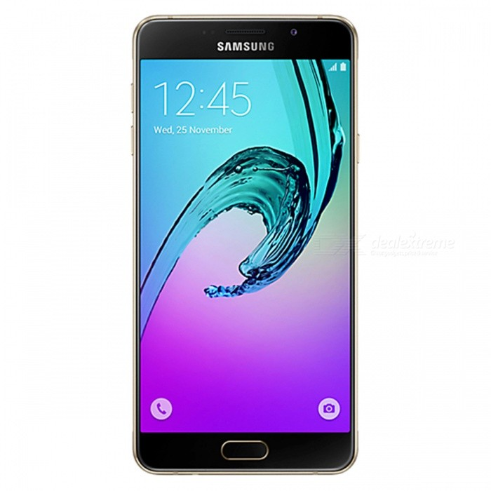Samsung Galaxy A7 2016 A710FD Dual SIM Phone, 3GB RAM 16GB ROM- GoldenAndroid Phones<br>Form ColorGoldenRAM3GBROM16GBBrandSamsungModelA710FDQuantity1 pieceMaterialMetal + GlassShade Of ColorGoldTypeBrand NewPower AdapterUK PlugNetwork Type2G,3G,4GBand DetailsGSM 850/900/1800/1900MHz; UMTS 2100/1900/850/900MHz; LTE 2100/1800/850/2600/900/800MHz; TD-LTE 2300MHzData TransferGPRS,HSDPA,LTE,HSUPAWLAN Wi-Fi 802.11 a,b,g,n,Others,dual-band, WiFi Direct, hotspotSIM Card TypeNano SIMSIM Card Quantity2Network StandbyDual Network StandbyGPSYesNFCYesBluetooth VersionBluetooth V4.1Operating SystemOthers,Google Android 5.1.1 (Lollipop)CPU ProcessorSamsung Exynos 7 Octa 7580, 2015, 64 bit, Octa-core 1.6GHz, 28 nmCPU Core QuantityOcta-CoreGPUARM Mali-T720 GPULanguageN/AAvailable Memory10.8GBMemory Cardmicro SDMax. Expansion Supported256GBSize Range5.5 inches &amp; OverTouch Screen TypeCapacitive ScreenScreen Resolution1920*1080Screen Size ( inches)5.5Screen Edge2.5D Curved EdgeCamera Pixel13.0MPFront Camera Pixels5 MPVideo Recording Resolution1080p@30fpsFlashYesAuto FocusYesTouch FocusYesOther Camera FunctionsPrimary camera:<br>13 MP, f/1.9, 28mm, OIS, autofocus, LED flash;<br>Geo-tagging, touch focus, face detection, panorama, HDR;<br>Secondary camera<br>5 MP, f/1.9, 24mm, 1080PTalk Time17 hoursStandby Time322 hoursBattery Capacity3300 mAhBattery ModeNon-removablefeaturesWi-Fi,GPS,FM,Bluetooth,NFCSensorProximity,Compass,Accelerometer,Fingerprint authentication sensor,Others,Hall sensor, Light sensorWaterproof LevelIPX0 (Not Protected)I/O InterfaceSIM Slot,Micro USB v2.0,Others,Micro SDJAVANoRadio TunerFMOther Features- Fast battery charging<br>- ANT+ support<br>- MP4/WMV/H.264 player<br>- MP3/WAV/WMA/eAAC+/FLAC player<br>- Photo/video editor<br>- Document viewerReference Websites== Will this mobile phone work with a certain mobile carrier of yours? ==Packing List1 x Smart phone1 x Power supply1 x Micro USB charging cable1 x SIM tool1 x User manual<br>