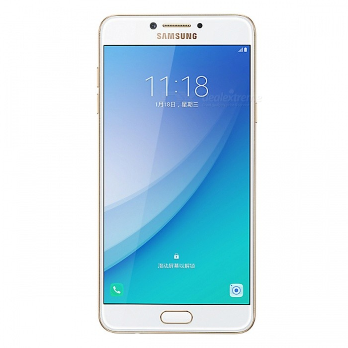 Samsung Galaxy C7 Pro C7010 Phone w/ 4GB RAM, 64GB ROM - GoldenAndroid Phones<br>Form  ColorGoldenRAM4GBROM64GBBrandSamsungModelC7010Quantity1 setMaterialAluminium alloyShade Of ColorGoldTypeBrand NewPower AdapterUK PlugTime of Release2017Network Type2G,3G,4GBand DetailsGSM850/900/1800/1900;  UMTS2100 (B1), UMTS1900 (B2), UMTS850 (B5), UMTS900 (B8); CDMA800 (BC0), TD-SCDMA2000,  TD-SCDMA1900; LTE2100 (B1),  LTE1800 (B3), LTE2600 (B7), LTE900 (B8), TD-LTE2600 (B38), TD-LTE1900 (B39), TD-LTE2300 (B40), TD-LTE2500 (B41)Data TransferGPRS,HSDPA,EDGE,LTE,HSUPAWLAN Wi-Fi 802.11 a,b,g,n,acSIM Card TypeNano SIMSIM Card Quantity2Network StandbyDual Network StandbyGPSYes,A-GPSNFCYesBluetooth VersionBluetooth V4.2Operating SystemOthers,Android 6.0 MarshmallowCPU ProcessorQualcomm Snapdragon 626 MSM8953 Pro, 2016, 64 bit, octa-core, 14 nm, Qualcomm Adreno 506 GPUCPU Core QuantityOcta-CoreGPUQualcomm Adreno 506LanguageNot SpecifyAvailable Memory64GBMemory CardmicroSDMax. Expansion Supported256GBSize Range5.5 inches &amp; OverTouch Screen TypeSuper AMOLEDScreen Resolution1920*1080MultitouchOthers,YesScreen Size ( inches)5.7Camera PixelOthers,16.0MPFront Camera Pixels16.0 MPVideo Recording Resolution1920x1080P; 30 fpsFlashYesAuto FocusCD AFTouch FocusYesOther Camera FunctionsHDR photo, HDR video, Red-eye reduction, Slow motion video, Touch focus, Macro mode, Panorama Photo, Face detection, Face tagging, Smile detectionTalk TimeN/A hourStandby TimeN/A hourBattery Capacity3300 mAhBattery ModeNon-removableQuick ChargeYesfeaturesWi-Fi,GPS,FM,Bluetooth,NFC,OTGSensorProximity,Compass,Accelerometer,Fingerprint authentication sensor,Others,Light sensor, GyroscopeWaterproof LevelIPX0 (Not Protected)I/O InterfaceUSB Type-c,OTGRadio TunerFMReference Websites== Will this mobile phone work with a certain mobile carrier of yours? ==Packing List1 x Smartphone1 x Power Adapter1 x Type-C Charging Cable1 x User Manual<br>