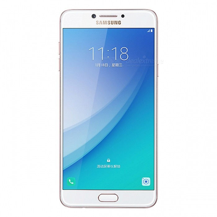 Samsung Galaxy C7 Pro C7010 Phone w/ 4GB RAM, 64GB ROM - Rose GoldAndroid Phones<br>Form  ColorRose GoldRAM4GBROM64GBBrandSamsungModelC7010Quantity1 setMaterialAluminium alloyShade Of ColorGoldTypeBrand NewPower AdapterUK PlugTime of Release2017Network Type2G,3G,4GBand DetailsGSM850/900/1800/1900;  UMTS2100 (B1), UMTS1900 (B2), UMTS850 (B5), UMTS900 (B8); CDMA800 (BC0), TD-SCDMA2000,  TD-SCDMA1900; LTE2100 (B1),  LTE1800 (B3), LTE2600 (B7), LTE900 (B8), TD-LTE2600 (B38), TD-LTE1900 (B39), TD-LTE2300 (B40), TD-LTE2500 (B41)Data TransferGPRS,HSDPA,EDGE,LTE,HSUPAWLAN Wi-Fi 802.11 a,b,g,n,acSIM Card TypeNano SIMSIM Card Quantity2Network StandbyDual Network StandbyGPSYes,A-GPSNFCYesBluetooth VersionBluetooth V4.2Operating SystemOthers,Android 6.0 MarshmallowCPU ProcessorQualcomm Snapdragon 626 MSM8953 Pro, 2016, 64 bit, octa-core, 14 nm, Qualcomm Adreno 506 GPUCPU Core QuantityOcta-CoreGPUQualcomm Adreno 506LanguageNot SpecifyAvailable Memory64GBMemory CardmicroSDMax. Expansion Supported256GBSize Range5.5 inches &amp; OverTouch Screen TypeSuper AMOLEDScreen Resolution1920*1080MultitouchOthers,YesScreen Size ( inches)5.7Camera PixelOthers,16.0MPFront Camera Pixels16.0 MPVideo Recording Resolution1920x1080P; 30 fpsFlashYesAuto FocusCD AFTouch FocusYesOther Camera FunctionsHDR photo, HDR video, Red-eye reduction, Slow motion video, Touch focus, Macro mode, Panorama Photo, Face detection, Face tagging, Smile detectionTalk TimeN/A hourStandby TimeN/A hourBattery Capacity3300 mAhBattery ModeNon-removableQuick ChargeYesfeaturesWi-Fi,GPS,FM,Bluetooth,NFC,OTGSensorProximity,Compass,Accelerometer,Fingerprint authentication sensor,Others,Light sensor, GyroscopeWaterproof LevelIPX0 (Not Protected)I/O InterfaceUSB Type-c,OTGRadio TunerFMReference Websites== Will this mobile phone work with a certain mobile carrier of yours? ==Packing List1 x Smartphone1 x Power Adapter1 x Type-C Charging Cable1 x User Manual<br>