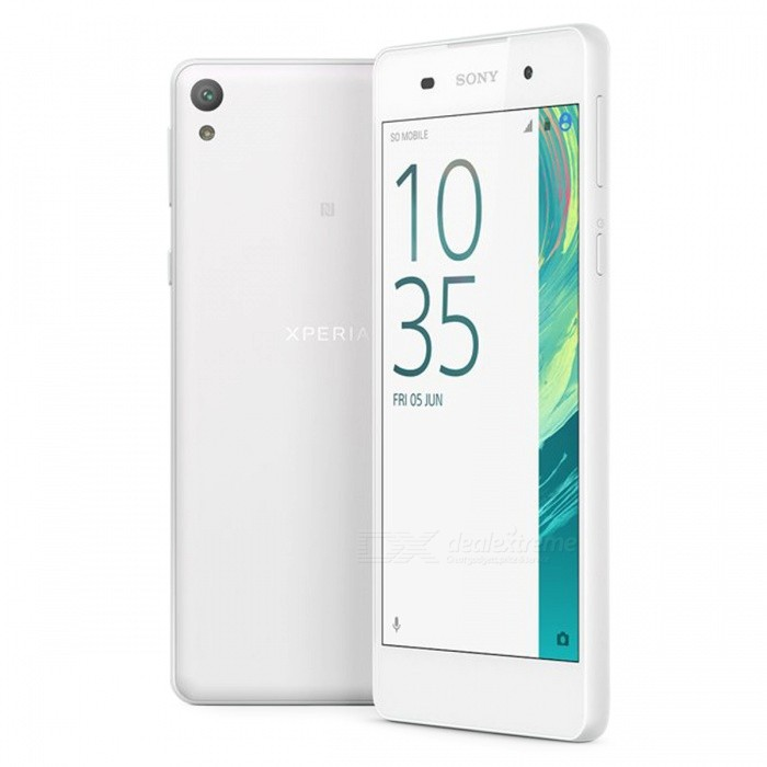 Sony Xperia E5 F3311 5.0 Single SIM 4G Phone w/ 1.5GB + 16GB - WhiteAndroid Phones<br>Form ColorWhiteRAM1.5GBROM16GBBrandSONYModelF3311Quantity1 pieceMaterialN/AShade Of ColorWhiteTypeBrand NewPower AdapterUK PlugNetwork Type2G,3G,4GBand DetailsGSM 850/900/1800/1900;  UMTS 2100/1900/850MHz;  LTE 2100/1900/850/2600/900/800MHzData TransferGPRS,HSDPA,LTE,HSUPAWLAN Wi-Fi 802.11 a,b,g,n,Others,Wi-Fi Direct, hotspotSIM Card TypeNano SIMSIM Card Quantity1Network StandbySingle StandbyGPSYesNFCYesBluetooth VersionBluetooth V4.0,Others,A2DP, aptXOperating SystemOthers,Google Android 6.0 (Marshmallow)CPU ProcessorMediaTek MT6735, 2015, 64 bit, Quad-core 1.3GHz, 28 nmCPU Core QuantityQuad-CoreGPUARM Mali-T720 GPULanguageN/AAvailable MemoryN/AMemory CardTF cardMax. Expansion Supported256GBSize Range5.0~5.4 inchesTouch Screen TypeCapacitive ScreenScreen Resolution1280*720Screen Size ( inches)5.0Camera Pixel13.0MPFront Camera Pixels5 MPVideo Recording ResolutionYesFlashYesAuto FocusYesTouch FocusYesOther Camera FunctionsPrimary camera: <br>13 MP, f/2.0, autofocus, LED flash; <br>Geo-tagging, touch focus, face detection, HDR, panorama<br>Secondarycamera: <br>5 MP, f/2.4Talk Time9.5 hoursStandby Time518 hoursBattery Capacity2300 mAhBattery ModeNon-removablefeaturesWi-Fi,GPS,FM,Bluetooth,NFCSensorProximity,Compass,Accelerometer,Others,Light sensor, Prox. sensorWaterproof LevelIPX0 (Not Protected)I/O InterfaceSIM Slot,Micro USB v2.0Format SupportedMIDI/MP3/AAC; MP4/3GP/AVC/AVI/MPEG-4; JPEG/PNG/GIF/BMPJAVANoRadio TunerFMOther Features- DivX/MP4/H.264 player<br>- MP3/eAAC+/WAV/Flac player<br>- Document viewer<br>- Photo/video editorReference Websites== Will this mobile phone work with a certain mobile carrier of yours? ==Packing List1 x Sony Xperia E5 4G Phone1 x Power adapter1 x Micro USB charging cable1 x SIM tool1 x User manual<br>