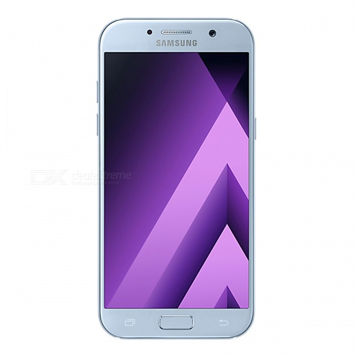 Samsung Galaxy A5 (2017) A520F/DS Phone w/ 3GB RAM 32GB ROM - BlueAndroid Phones<br>Form ColorBlueRAM3GBROM32GBBrandSamsungModelA520F/DSQuantity1 setMaterialAluminium alloyShade Of ColorBlueTypeBrand NewPower AdapterUK PlugHousing Case MaterialAluminium alloyTime of Release2017Network Type2G,3G,4GBand DetailsGSM850/900/1800/1900;  UMTS2100 (B1), UMTS1900 (B2), UMTS850 (B5), UMTS900 (B8); LTE2100 (B1),  LTE1800 (B3),  LTE1700/2100 (B4), LTE850 (B5), LTE2600 (B7), LTE900 (B8),  LTE700 (B17), LTE800 (B20), LTE700 (B28), TD-LTE2600 (B38), TD-LTE2300 (B40), TD-LTE2500 (B41)Data TransferGPRS,HSDPA,EDGE,LTE,HSUPAWLAN Wi-Fi 802.11 a,b,g,n,acSIM Card TypeNano SIMSIM Card Quantity2Network StandbyDual Network StandbyGPSYes,A-GPSNFCYesBluetooth VersionBluetooth V4.2Operating SystemOthers,Google Android 6.0.1 (Marshmallow)CPU ProcessorSamsung Exynos 7 Octa 7880, 2017, 64 bit, octa-core, 14 nm, ARM Mali-T860 GPUCPU Core QuantityOcta-CoreGPUARM Mali-T860MP4LanguageNot SpecifyAvailable Memory32GBMemory CardmicroSDSize Range5.0~5.4 inchesTouch Screen TypeAMOLEDScreen Resolution1920*1080MultitouchOthers,YesScreen Size ( inches)Others,5.2Camera PixelOthers,16.0MPFront Camera Pixels16 MPVideo Recording Resolution1920x1080 pixel; 30 fpsFlashYesAuto FocusCD AFTouch FocusYesOther Camera FunctionsEIS, HDR photo, HDR video, Red-eye reduction, Slow motion video,Touch focus, Macro mode,Panorama Photo, Face detection, Face tagging, Smile detection, Face retouchTalk Time17 hoursStandby TimeN/A hourBattery Capacity3000 mAhBattery ModeNon-removablefeaturesWi-Fi,GPS,Bluetooth,NFC,OTGSensorG-sensor,Proximity,Compass,Accelerometer,Barometer,Fingerprint authentication sensor,Others,Hall sensor, Light sensorWaterproof LevelIPX0 (Not Protected)I/O InterfaceUSB Type-c,OTGJAVANoTV TunerNoReference Websites== Will this mobile phone work with a certain mobile carrier of yours? ==Packing List1 x Cell Phone1 x Power Adapter1 x USB Charging Cable1 x User Manual<br>