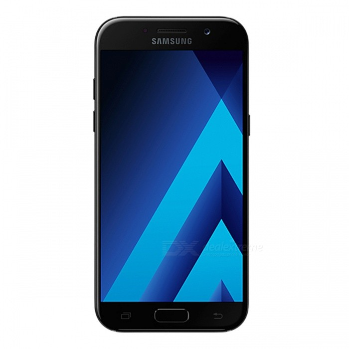 Samsung Galaxy A5 (2017) A520F/DS Phone w/ 3GB RAM 32GB ROM - BlackAndroid Phones<br>Form ColorBlackRAM3GBROM32GBBrandSamsungModelA520F/DSQuantity1 setMaterialAluminium alloyShade Of ColorBlackTypeBrand NewPower AdapterUK PlugHousing Case MaterialAluminium alloyTime of Release2017Network Type2G,3G,4GBand DetailsGSM850/900/1800/1900;  UMTS2100 (B1), UMTS1900 (B2), UMTS850 (B5), UMTS900 (B8); LTE2100 (B1),  LTE1800 (B3),  LTE1700/2100 (B4), LTE850 (B5), LTE2600 (B7), LTE900 (B8),  LTE700 (B17), LTE800 (B20), LTE700 (B28), TD-LTE2600 (B38), TD-LTE2300 (B40), TD-LTE2500 (B41)Data TransferGPRS,HSDPA,EDGE,LTE,HSUPAWLAN Wi-Fi 802.11 a,b,g,n,acSIM Card TypeNano SIMSIM Card Quantity2Network StandbyDual Network StandbyGPSYes,A-GPSNFCYesBluetooth VersionBluetooth V4.2Operating SystemOthers,Google Android 6.0.1 (Marshmallow)CPU ProcessorSamsung Exynos 7 Octa 7880, 2017, 64 bit, octa-core, 14 nm, ARM Mali-T860 GPUCPU Core QuantityOcta-CoreGPUARM Mali-T860MP4LanguageNot SpecifyAvailable Memory32GBMemory CardmicroSDSize Range5.0~5.4 inchesTouch Screen TypeAMOLEDScreen Resolution1920*1080MultitouchOthers,YesScreen Size ( inches)Others,5.2Camera PixelOthers,16.0MPFront Camera Pixels16 MPVideo Recording Resolution1920x1080 pixel; 30 fpsFlashYesAuto FocusCD AFTouch FocusYesOther Camera FunctionsEIS, HDR photo, HDR video, Red-eye reduction, Slow motion video,Touch focus, Macro mode,Panorama Photo, Face detection, Face tagging, Smile detection, Face retouchTalk Time17 hoursStandby TimeN/A hourBattery Capacity3000 mAhBattery ModeNon-removablefeaturesWi-Fi,GPS,Bluetooth,NFC,OTGSensorG-sensor,Proximity,Compass,Accelerometer,Barometer,Fingerprint authentication sensor,Others,Hall sensor, Light sensorWaterproof LevelIPX0 (Not Protected)I/O InterfaceUSB Type-c,OTGJAVANoTV TunerNoReference Websites== Will this mobile phone work with a certain mobile carrier of yours? ==Packing List1 x Cell Phone1 x Power Adapter1 x USB Charging Cable1 x User Manual<br>