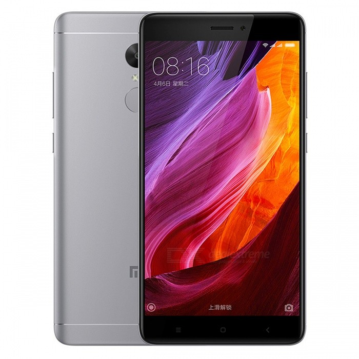 Xiaomi Redmi Note 4X 5.5 Dual SIM Phone w/ 3GB RAM + 32GB ROM - GreyAndroid Phones<br>Form ColorGreyRAM3GBROM32GBBrandXiaomiModelNote 4XQuantity1 pieceMaterialMetal + GlassShade Of ColorGrayTypeBrand NewPower AdapterUK PlugNetwork Type2G,3G,4GBand DetailsGSM: 850/900/1800/1900MHz;  UMTS: 2100/1900/850/900MHz;  CDMA: 800MHz;  TD-SCDMA: 2000/1900MHz;  LTE: 2100/1800/850/2600MHz; TD-LTE: 1900/2300/2500MHzData TransferGPRS,HSDPA,LTE,HSUPAWLAN Wi-Fi 802.11 a,b,g,n,Others,Wi-Fi Direct, hotspotSIM Card TypeNano SIMSIM Card Quantity2Network StandbyDual Network StandbyGPSYes,A-GPS,BDS,GLONASSBluetooth VersionBluetooth V4.0,Others,A2DP, LEOperating SystemOthers,Google Android 6.0.1 (Marshmallow), MIUIvCPU ProcessorQualcomm Snapdragon 625 MSM8953, 2016, 64 bit, Octa-core 2.0GHz, 14 nmCPU Core QuantityOcta-CoreGPUQualcomm Adreno 506 GPULanguageN/AAvailable MemoryN/AMemory CardMicroSDMax. Expansion Supported256GBSize Range5.5 inches &amp; OverTouch Screen TypeCapacitive ScreenScreen Resolution1920*1080Screen Size ( inches)5.5Screen Edge2.5D Curved EdgeCamera Pixel13.0MPFront Camera Pixels5 MPVideo Recording Resolution1080p@30fps, 720p@120fpsFlashYesAuto FocusYesTouch FocusYesOther Camera FunctionsPrimary camera: 13 MP, f/2.0, phase detection autofocus, dual-LED (dual tone) flash; <br>Features: 1.12 µm pixel size, geo-tagging, touch focus, face detection, panorama, HDR; <br>Secondary camera: 5 MP, f/2.0, 1080pTalk Time51 hoursStandby Time264 hoursBattery Capacity4100 mAhBattery ModeNon-removablefeaturesWi-Fi,GPS,FM,Bluetooth,OTGSensorProximity,Compass,Accelerometer,Fingerprint authentication sensor,Others,gyro, hall sensor, light sensorWaterproof LevelIPX0 (Not Protected)I/O InterfaceMicro USB v2.0,OTGFormat SupportedPCM/AAC/AAC+/eAAC+/MP3/AMR-NB/WB/FLAC/APE/ DSD/WAV; H.265/H.264/MPEG4; JPEG/GIFJAVANoRadio TunerFMReference Websites== Will this mobile phone work with a certain mobile carrier of yours? ==Packing List1 x Smart phone1 x Power adapter1 x Micro USB charging cable1 x SI