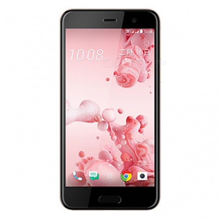 HTC U Play 5.2 Android 7.0 4G Dual SIM Phone, 3GB RAM 64GB ROM - PinkAndroid Phones<br>Form  ColorPinkRAM3GBROM64GBBrandHTCModelU PlayQuantity1 pieceMaterialMetal + GlassShade Of ColorPinkTypeBrand NewPower AdapterUK PlugNetwork Type2G,3G,4GBand DetailsGSM: 850/900/1800/1900MHz;  UMTS: 2100/1900/850/900MHz;  LTE: 2100/1800/850/2600/900/800/700MHz;  TD-LTE: 2600/2300MHzData TransferGPRS,HSDPA,LTE,HSUPAWLAN Wi-Fi 802.11 a,b,g,n,ac,Others,dual-band, Wi-Fi Direct, DLNA, hotspotSIM Card TypeNano SIMSIM Card Quantity2Network StandbyDual Network StandbyGPSYes,A-GPS,GLONASSNFCYesBluetooth VersionBluetooth V4.2,Others,A2DP, LEOperating SystemOthers,Google Android 7.0 (Nougat)CPU ProcessorMediaTek MT6755 (Helio P10), 2015, 64 bit, Octa-core 2.0GHz, 28 nmCPU Core QuantityOcta-CoreGPUARM Mali-T860 GPULanguageEnglishAvailable Memory56.6GBMemory CardMicroSDMax. Expansion Supported256GBSize Range5.0~5.4 inchesTouch Screen TypeCapacitive ScreenScreen Resolution1920*1080Screen Size ( inches)Others,5.2Camera PixelOthers,16MPFront Camera Pixels16 MPVideo Recording Resolution1080p@30fpsFlashYesAuto FocusYesTouch FocusYesOther Camera FunctionsPrimary camera: 16 MP, f/2.0, 28mm, OIS, phase detection autofocus, dual-LED (dual tone) flash; <br>Features: 1.0 µm pixel size, geo-tagging, touch focus, face detection, panorama, Auto-HDR; <br>Secondary camera: 16 MP, f/2.0, 27mm, 1 µm pixel size, 1080p, Auto-HDRTalk Time15 hoursStandby Time427 hoursBattery Capacity2500 mAhBattery ModeNon-removablefeaturesWi-Fi,GPS,FM,Bluetooth,NFCSensorProximity,Compass,Accelerometer,Gesture,Fingerprint authentication sensor,Others,gyro, light sensorWaterproof LevelIPX0 (Not Protected)I/O InterfaceUSB Type-c,Others,v2.0, Type-C 1.0 reversible connectorFormat SupportedMIDI/MP3/AAC; 3GP/MP4; JPEGJAVANoRadio TunerFMReference Websites== Will this mobile phone work with a certain mobile carrier of yours? ==Packing List1 x HTC U Play Phone1 x Power charger1 x Type-C charging cable1 x SIM tool1 x User manual<br>