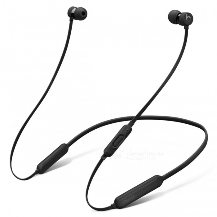 Beats BeatsX Bluetooth Earphone - BlackOther Bluetooth Devices<br>Form  ColorBlackModelBeatsXMaterialPlastic + MetalQuantity1 setShade Of ColorBlackBluetooth VersionBluetooth V4.0Operating Range30 metersStandby Time8 hoursApplicable ProductsOthers,Most Apple bluetooth enable decivesBattery TypeLi-ion batteryPower AdapterUSBPacking List1 x Beatsx earphones1 x Eartips with four size options1 x Removable secure-fit wingtips1 x Pocket-sized carrying case1 x Lightning to USB-A charging cable1 x Quick Start Guide1 x Warranty Card<br>