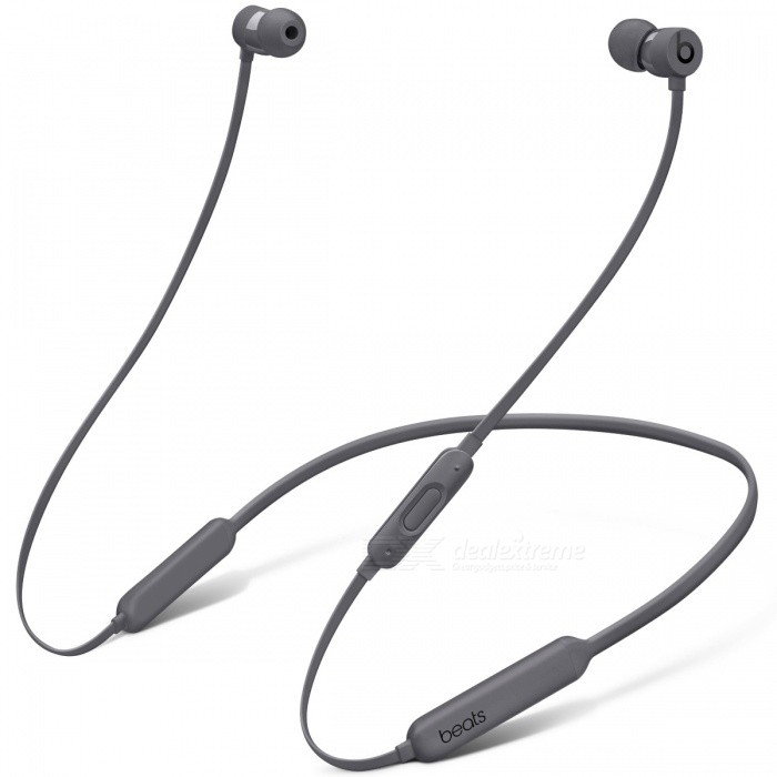 Beats BeatsX Bluetooth Earphone - GrayOther Bluetooth Devices<br>Form  ColorGreyModelBeatsXMaterialPlastic + MetalQuantity1 setShade Of ColorBlackBluetooth VersionBluetooth V4.0Operating Range30 metersStandby Time8 hoursApplicable ProductsOthers,Most Apple bluetooth enable decivesBattery TypeLi-ion batteryPower AdapterUSBPacking List1 x Beatsx Earphone1 x Eartips with four size options1 x Removable secure-fit wingtips1 x Pocket-sized carrying case1 x Lightning to USB-A charging cable1 x Quick Start Guide1 x Warranty Card<br>
