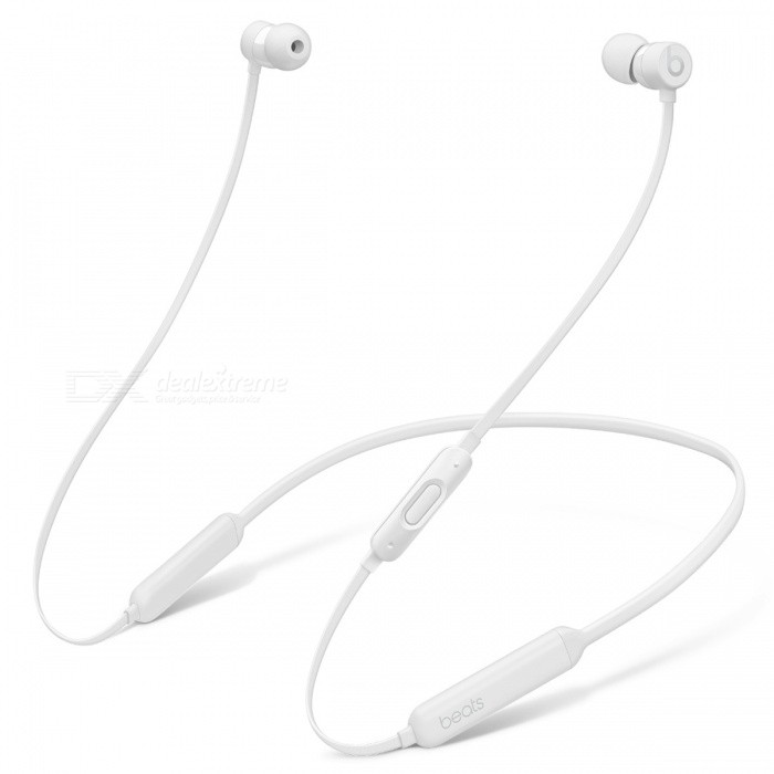 Beats BeatsX Bluetooth Earphone - WhiteOther Bluetooth Devices<br>Form  ColorWhiteModelBeatsXMaterialPlastic + MetalQuantity1 setShade Of ColorBlackBluetooth VersionBluetooth V4.0Operating Range30 metersStandby Time8 hoursApplicable ProductsOthers,Most Apple bluetooth enable decivesBattery TypeLi-ion batteryPower AdapterUSBPacking List1 x Beatsx earphones1 x Eartips with four size options1 x Removable secure-fit wingtips1 x Pocket-sized carrying case1 x Lightning to USB-A charging cable1 x Quick Start Guide1 x Warranty Card<br>