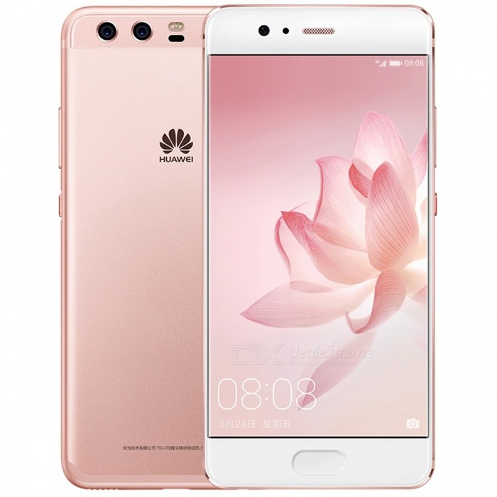 Huawei P10 AL00 5.1 Dual SIM Phone w/ 4+64GB - Rose GoldAndroid Phones<br>Form  ColorRose GoldRAM4GBROM64GBBrandHUAWEIModelP10Quantity1 pieceMaterialMetal + GlassShade Of ColorGoldTypeBrand NewPower AdapterOthers,2-flat-pin PlugNetwork Type2G,3G,4GBand DetailsGSM 850/900/1800/1900MHz;  UMTS 2100/1900/(1700/2100)/850/800(B6)/900/800(B19)MHz;  CDMA 800MHz;  TD-SCDMA 2000/1900MHz;  LTE 2100/1900/1800/(1700/2100)/850(B5)/2600/900/(1700/1800)/700(B12)/700(B17)/800(B18)/800(B19)/800(B20)/850(B26)MHz;  TD-LTE 2600/1900/2300/2500MHzData TransferGPRS,HSDPA,LTE,HSUPAWLAN Wi-Fi 802.11 a,b,g,n,ac,Others,dual-band, DLNA, WiFi Direct, hotspotSIM Card TypeNano SIMSIM Card Quantity2Network StandbyDual Network StandbyGPSYes,A-GPS,BDS,GLONASS,GALILEONFCYesBluetooth VersionBluetooth V4.2,Others,A2DP, LEOperating SystemOthers,Google Android 7.0 (Nougat), EMUI 5.1CPU ProcessorHiSilicon Honor KIRIN960 Hi3660, 2016, 64 bit, Octa-core 2.36GHz, 64 Kbyte I-Cache, 64 Kbyte D-Cache, 16 nmCPU Core QuantityOcta-CoreGPUARM Mail-G71 GPULanguageN/AAvailable MemoryN/AMemory CardMicroSDMax. Expansion Supported256GBSize Range5.0~5.4 inchesTouch Screen TypeCapacitive ScreenScreen Resolution1920*1080Screen Size ( inches)Others,5.1 inchCamera PixelOthers,Dual 20 MP + 12 MPFront Camera Pixels8 MPVideo Recording Resolution2160p@30fps, 1080p@60fpsFlashYesAuto FocusYesTouch FocusYesOther Camera FunctionsPrimary camera: Dual 20 MP + 12 MP, f/2.2, OIS, Leica optics, phase detection and laser autofocus, dual-LED (dual tone) flash; <br>Features: Geo-tagging, touch focus, face detection, HDR, panorama; <br>Secondary camera: 8 MP, f/1.9Talk Time32 hoursStandby Time408 hoursBattery Capacity3200 mAhBattery ModeNon-removablefeaturesWi-Fi,GPS,FM,Bluetooth,NFC,OTGSensorProximity,Compass,Accelerometer,Fingerprint authentication sensor,Others,Gyro, Hall sensor, Light sensorWaterproof LevelIPX0 (Not Protected)I/O InterfaceUSB Type-c,Others,Type-C 1.0 reversible connectorFormat Supportedavi, mkv, mp4, 3gp; mp3, amr, mid, w