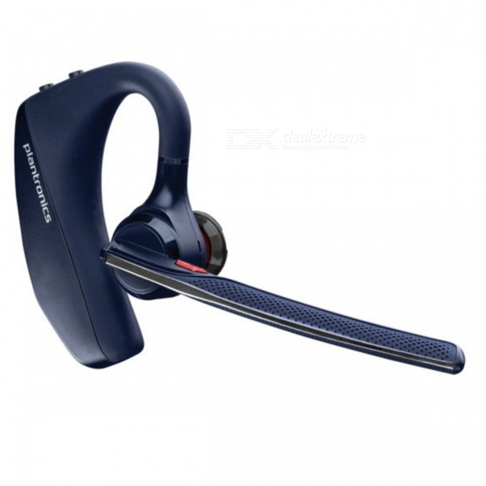 Plantronics voyager 5210 - Navy BlueOther Bluetooth Devices<br>Form  ColorDark BlueModelvoyager 5210MaterialPlasticQuantity1 DX.PCM.Model.AttributeModel.UnitBluetooth ChipPBAP, AVRCP, Headset Profile 1.6 and Headset Profile 1.2Operating Range30metersStandby Time9 DX.PCM.Model.AttributeModel.UnitOther Featuresnoise resistance<br>wind resistancePacking List1 x V52101 x USB charging cable3 x sets of earbuds (S,M,L)<br>