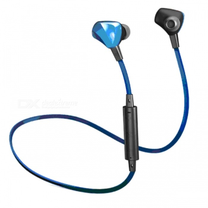ODOYO Purdio OPAL EX60 Bluetooth Wireless Earphone - Sapphire BlueOther Bluetooth Devices<br>Form  ColorBlueModelEX60MaterialPlasticQuantity1 pieceShade Of ColorBlueOperating Range10meterStandby Time5 hoursCertificationIPX4Packing List1 x EX601 x Bag1 x Charging cable4 x Pairs of eartips(XS,S,M,L)1 x Clip<br>