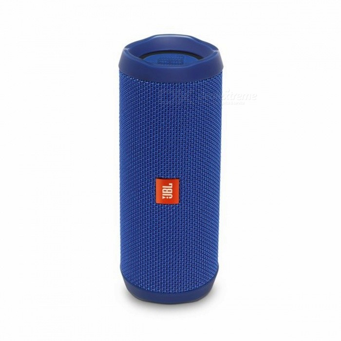JBL Flip 4 Bluetooth Speaker - BlueBluetooth Speakers<br>Form  ColorBlueModelFlip 4MaterialDurable fabricQuantity1 pieceShade Of ColorBlueBluetooth HandsfreeYesBluetooth VersionOthers,Bluetooth V4.2Operating Rangeabout 33 feet or 10 meters.Total Power2 x 8 WFrequency Response70Hz~20KHzApplicable ProductsOthers,all bluetooth enable decivesRadio TunerYesFM Frequency80dBBuilt-in Battery Capacity 3000 mAhBattery TypeLi-ion batteryMusic Play Time12 hoursPacking List1 x Flip 41 x Micro USB cable1 x Safety Sheet1 x Quick Start Guide1 x Warranty Card<br>