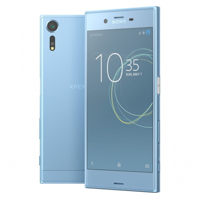 SONY Xperia XZs G8232 Dual 4G 5.2 Phone w/ 4+64GB - BlueAndroid Phones<br>Form  ColorBlueRAM4GBROM64GBBrandSONYModelG8232Quantity1 setMaterialMetal + GlassShade Of ColorBlueTypeBrand NewPower AdapterUK PlugTime of Release2017Network Type2G,3G,4GBand DetailsGSM850/900/1800/1900;  UMTS2100 (B1), UMTS1900 (B2),  UMTS1700/2100 (B4), UMTS850 (B5),  UMTS800 (B6), UMTS900 (B8),  UMTS800 (B19); LTE2100 (B1),  LTE1900 (B2), LTE1800 (B3),  LTE1700/2100 (B4), LTE850 (B5), LTE2600 (B7), LTE900 (B8),   LTE700 (B12),  LTE700 (B13),  LTE700 (B17),  LTE800 (B19), LTE800 (B20),  LTE850 (B26), LTE700 (B28),   LTE700 (B29), LTE1500 (B32), TD-LTE2600 (B38), TD-LTE1900 (B39), TD-LTE2300 (B40), TD-LTE2500 (B41)Data TransferGPRS,HSDPA,EDGE,LTE,HSUPAWLAN Wi-Fi 802.11 a,b,g,n,ac,Others,Wi-Fi Direct, DLNA, MiracastSIM Card TypeNano SIMSIM Card Quantity2Network StandbyDual Network StandbyGPSYes,A-GPSNFCYesBluetooth VersionBluetooth V4.2Operating SystemOthers,Google Android 7.1 (Nougat)CPU ProcessorQualcomm Snapdragon 820 MSM8996, 2015, 64 bit, quad-core, 32 Kbyte I-Cache, 32 Kbyte D-Cache, 1536 Kbyte L2, 14 nm, 2150 MHzCPU Core QuantityQuad-CoreGPUQualcomm Adreno 530LanguageNot SpecifyAvailable Memory64GBMemory CardmicroSDMax. Expansion Supported256GBSize Range5.0~5.4 inchesTouch Screen TypeCapacitive ScreenScreen Resolution1920*1080Multitouch10Screen Size ( inches)Others,5.2Camera PixelOthers,19MPFront Camera Pixels13 MPVideo Recording Resolution4096x2160 pixel, 30 fps; 1920x1080 pixel, 30 fpsFlashYesAuto FocusCD AF, PD AF,  Laser AFTouch FocusYesOther Camera FunctionsEIS, EIS (video), HDR photo, Red-eye reduction, Slow motion video, Touch focus, Macro mode, Panorama Photo, Face detection, Smile detectionTalk Time17 hoursStandby TimeN/A hourBattery Capacity2900 mAhBattery ModeNon-removablefeaturesWi-Fi,GPS,Bluetooth,NFCSensorProximity,Compass,Accelerometer,Gesture,Barometer,Fingerprint authentication sensor,Others,Hall sensor, Light sensor, Step counter, GyroscopeWaterproof LevelOthers,8 Protected against immersion beyond 1m of depthDust-proof Level6 Totally protected from dustShock-proofYesI/O InterfaceUSB Type-cTV TunerNoReference Websites== Will this mobile phone work with a certain mobile carrier of yours? ==Packing List1 x Cell Phone1 x Power Adapter (UK Plug)1 x USB Charging Cable1 x User Manual<br>
