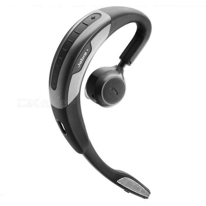 Jabra Motion Bluetooth HeadsetOther Bluetooth Devices<br>Form  ColorBlackModelMOTIONMaterialPolycarbonateQuantity1 DX.PCM.Model.AttributeModel.UnitOperating RangeUp to 10 metersStandby Time15 DX.PCM.Model.AttributeModel.UnitOther FeaturesSupport NFCPacking List1 x Jabra Motion headset1 x AC charger1 x Car charger2 x Extra eargels (S,L)1 x USB cable1 x Quick start guide1 x Warranty leaflet1 x Register paper<br>