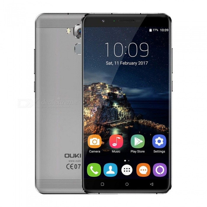 OUKITEL U16 Max 6.0 Octa-core 4G Phone w/ 3GB RAM 32GB ROM - GrayAndroid Phones<br>Form  ColorGreyRAM3GBROM32GBBrandOUKITELModelU16 MaxQuantity1 pieceMaterialAluminium alloyShade Of ColorGrayTypeBrand NewPower AdapterEU PlugHousing Case MaterialAluminium alloyNetwork Type2G,3G,4GBand Details2G: GSM 850/900/1800/1900MHz; 3G: WCDMA 900/2100MHz; 4G: FDD-LTE Band 1/3/7/20(B1:2100, B3:1800, B7:2600, B20:800MHz)Data TransferGPRSWLAN Wi-Fi 802.11 a,b,g,nSIM Card TypeMicro SIM,Nano SIMSIM Card Quantity2Network StandbyDual Network StandbyGPSYes,A-GPS,GLONASSNFCNoInfrared PortNoBluetooth VersionBluetooth V4.0Operating SystemOthers,Android 7.0CPU ProcessorMT6753, 1.3GHzCPU Core QuantityOcta-CoreGPUMali-T720LanguageAfrikaans, Indonesian, Malay, Czech, Danish, Germany(German), Germany (Austria), English(United Kingdom), English(United States), Spanish(Espana), Spanish(Estados Unidos), Filipino, French, Croatian, Zulu, Italian, Swahili, Latviesu, Lithuanian, Hungarian, Dutch, Norsk bokmal, Polish, Portuguese(Brasil), Portuguese(Portugal), Romanian, Rumantsch, Slovak, Slovenscina, Finnish, Swedish, Vietnamese, Turkish, Russian, Greek, Hebrew, Arabic, Hindi, Thai, Korean, Simplified Chinese, Traditional ChineseAvailable Memory26GBMemory CardMicro SDMax. Expansion Supported32GBSize Range5.5 inches &amp; OverTouch Screen TypeIPSScreen Resolution1280*720Multitouch5Screen Size ( inches)Others,6.0Screen Edge2.5D Curved EdgeCamera Pixel13.0MPFront Camera Pixels5.0 MPFlashYesAuto FocusYesTouch FocusYesTalk Time120 minutesStandby Time36 hoursBattery Capacity4000 mAhBattery ModeNon-removablefeaturesWi-Fi,GPS,FM,BluetoothSensorFingerprint authentication sensor,Others,Gravity induction, distance sensor, light sensor,Waterproof LevelIPX0 (Not Protected)Shock-proofNoI/O Interface3.5mmFormat SupportedAVI, MP4, 3GP, MOV, MKV, FLV, FLAC, APE, MP3, OGG, AMR, AACJAVANoRadio TunerFMWireless ChargingNoReference Websites== Will this mobile phone work with a certain mobile carrier of yours? ==Packing List1 x Phone1 x EU plug power adapter1 x Type-C data cable1 x English user manual<br>