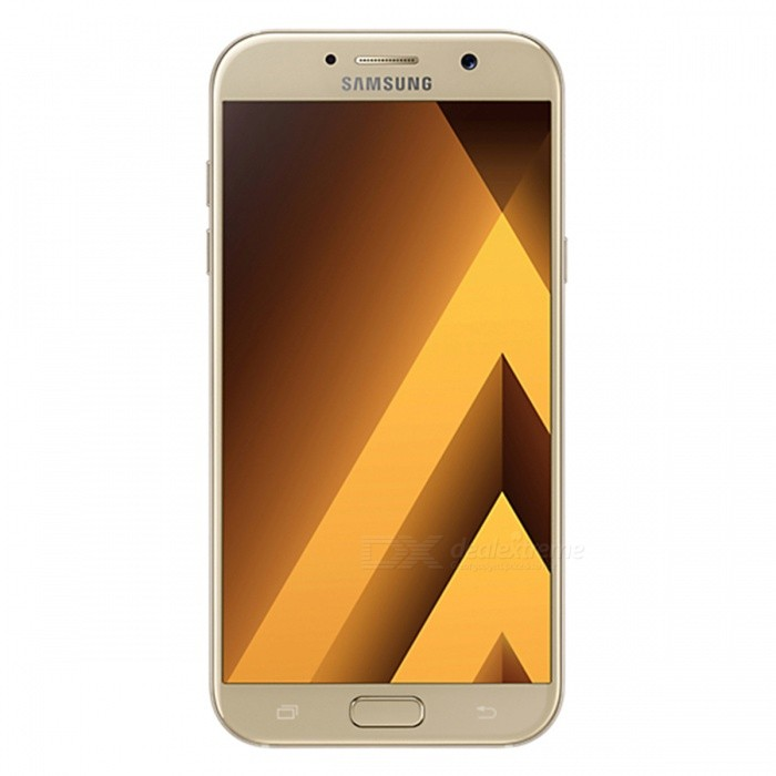 Samsung A3 A320FD 2017 4.7 Phone with 2GB + 16GB - GoldenAndroid Phones<br>Form  ColorGoldenRAM2GBROM16GBBrandSamsungModelA320FDQuantity1 setMaterialAluminium alloyShade Of ColorGoldTypeBrand NewPower AdapterEU PlugTime of Release2017Network Type2G,3G,4GBand DetailsGSM850/900/1800/1900;  UMTS2100 (B1), UMTS1900 (B2), UMTS850 (B5), UMTS900 (B8);  LTE2100 (B1), LTE1800 (B3), LTE850 (B5), LTE2600 (B7), LTE900 (B8), LTE800 (B20), TD-LTE2600 (B38), TD-LTE2300 (B40)Data TransferGPRS,HSDPA,EDGE,LTE,HSUPAWLAN Wi-Fi 802.11 a,b,g,n,ac,Others,Wi-Fi TetheringSIM Card TypeNano SIMSIM Card Quantity2Network StandbyDual Network StandbyGPSYesNFCYesBluetooth VersionBluetooth V4.2Operating SystemOthers,Google (Android 6.0.1) MarshmallowCPU ProcessorSamsung (Exynos 7 Octa 7870) 2016 64 bit octa-core 14 nmCPU Core QuantityOcta-CoreGPUARM Mali-T830LanguageNot SpecifyAvailable Memory11.1GBMemory CardMicro SDSize Range4.5~4.9 inchesTouch Screen TypeYesScreen Resolution1280*720Screen Size ( inches)4.7Camera PixelOthers,12.8MPFront Camera Pixels5.0 MPVideo Recording Resolution1920 x 1080 pixel, 60 fpsFlashYesAuto FocusCD AFTouch FocusYesOther Camera FunctionsHDR photo, Red-eye reduction, Touch focus, Macro mode, Panorama Photo, Face detection, Face tagging, Smile detection, Face retouCHTalk TimeN/A hourStandby TimeN/A hourBattery Capacity2350 mAhBattery ModeNon-removablefeaturesWi-Fi,GPS,FM,Bluetooth,NFCSensorG-sensor,Proximity,Compass,Accelerometer,Barometer,Fingerprint authentication sensor,Others,Hall sensor, Light sensor, GyroscopeWaterproof LevelOthers,8 Protected against immersion beyond 1m of depthDust-proof Level6 Totally protected from dustI/O InterfaceUSB Type-cRadio TunerFMReference Websites== Will this mobile phone work with a certain mobile carrier of yours? ==Packing List1 x Cell Phone1 x Power Adapter1 x USB Charging Cable1 x User Manual<br>