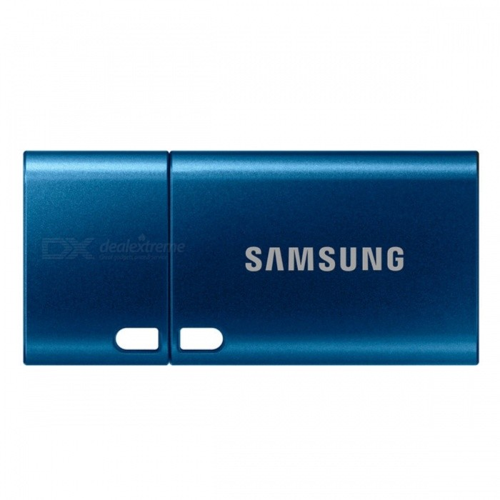 Samsung MUF-64DA1 64GB USB Type-C Flash Drive64GB USB Flash Drives<br>Form  ColorBlueCapacity64GBModelMUF-64DA1MaterialPlastic + MetalQuantity1 pieceShade Of ColorBlueMax Read Speed150MB/sMax Write Speednot specifiyUSBUSB 3.1 Type-CWith IndicatorNoPacking List1 x MUF-64DA1 Card<br>