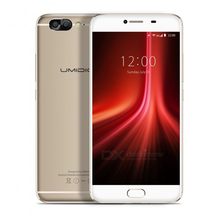 UMIDIGI Z1 5.5 Octa-Core 4G Smartphone with 6GB RAM 64GB ROM - GoldenAndroid Phones<br>Form  ColorGoldenRAM6GBROM64GBBrandOthers,UMIDIGIModelZ1Quantity1 pieceMaterialAluminum alloyShade Of ColorGoldTypeBrand NewPower AdapterEU PlugNetwork Type2G,3G,4GBand DetailsGSM 850: (B5)/900(B8)/1800(B3)/1900(B2) WCDMA: 850(B5)/900(B8)/1900(B2)/2100(B1) LTE FDD: 2100(B1) /1800(B3)/2600(B7)/800(B20) Up to 300MbpsData TransferGPRS,HSDPA,EDGE,HSUPAWLAN Dual band Wi-Fi (2.4GHz / 5GHz)SIM Card TypeNano SIMSIM Card Quantity2Network StandbyDual Network StandbyGPSYesBluetooth VersionBluetooth V4.1Operating SystemAndroid 7.xCPU ProcessorMTK MT6757 Octa-core, 2.3GHz, Cortex-A53CPU Core QuantityOcta-CoreGPUARM Mali-T880 MP2 900MHzLanguageEnglish, Bahasa Indonesia, Bahasa Melayu, Cestina, Dansk, Deutsch,<br>Espanol, Filipino, French, Hrvatski, latviesu,lietuviu,Italiano, Magyar,<br>Nederlands, Norsk, Polish, Portuguese, Romana, Slovencina, Suomi,<br>Svenska, Tieng viet, Turkish, Greek, Bulgarian, Russian, Ukrainian,<br>Hebrew, Arabic, Thai, Khmer, Korean, Simplified/Traditional ChineseAvailable Memory60GBMemory CardSupportMax. Expansion SupportedSupport TF card up to 256 GBSize Range5.5 inches &amp; OverTouch Screen TypeOthers,SHARP® OriginalScreen Resolution1920*1080Multitouch5Screen Size ( inches)5.5Screen Edge2.5D Curved EdgeCamera Pixel13.0MPFront Camera Pixels5.0 MPVideo Recording Resolution1080P, 2K, 4KFlashYesAuto FocusPDAF, LaserTouch FocusYesTalk Time50 hoursStandby Time312 hoursBattery Capacity4000 mAhBattery ModeNon-removableQuick ChargeSupportfeaturesWi-Fi,GPS,FM,Bluetooth,OTGSensorG-sensor,Proximity,Compass,Accelerometer,Fingerprint authentication sensor,Others,P-Sensor, L-Sensor, Gyroscope, Glonass, Hall switchWaterproof LevelOthers,Not availableI/O InterfaceUSB Type-cReference Websites== Will this mobile phone work with a certain mobile carrier of yours? ==CertificationCE / WEEE / MSDS / UN38.3Packing List1 x Z1 Phone1 x Quick Charge USB Type-C cable1 x PE+Quick Charger1 x SIM eject tool1 x User Menu1 x TPU Transparent Phone Case1 x Screen Protector<br>