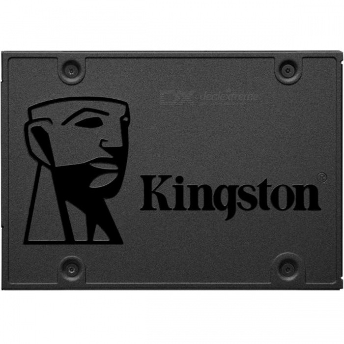 Kingston SSDNow A400 480GB SA400S37/480G SATA 2.5HDD &amp; SSD<br>Form  Color480GModelSA400S37/480GQuantity1 pieceMaterialMetalInterfaceSATA 3.0Capacity / ROM500GB,480GBForm Factor2.5Max Sequential Read500MB/sMax Sequential Write450MB/sBrandKingstonTypeSSDApplicationLaptop PC,Desktop PCPacking List1 x SA400S37/480G<br>