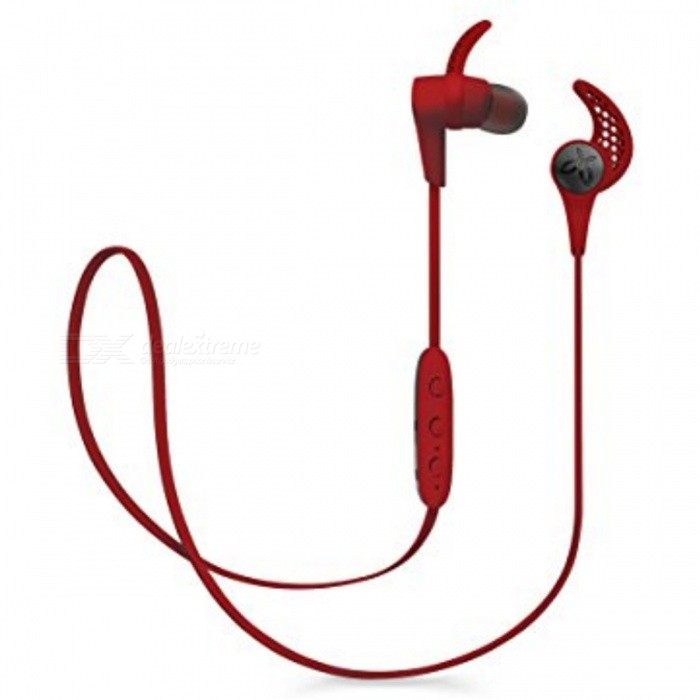 Jaybird X3 Sport Wireless In-Ear Headphone - RedHeadphones<br>Form  ColorRedBrandOthers,JaybirdModelX3MaterialPlastic + MetalQuantity1 DX.PCM.Model.AttributeModel.UnitConnectionBluetoothBluetooth VersionBluetooth V4.1Operating Range10 metersConnects Two Phones SimultaneouslyYesCable Length49 DX.PCM.Model.AttributeModel.UnitLeft &amp; Right Cables TypeEqual LengthHeadphone StyleIn-EarWaterproof LevelOthers,Sweat-proofApplicable ProductsOthers,All bluetooth enable devicesHeadphone FeaturesPhone Control,Long Time Standby,Volume Control,With Microphone,For Sports &amp; ExerciseSupport Memory CardNoSupport Apt-XYesBattery TypeOthers,Lithium-polymer rechargeable batteryStandby Time110 DX.PCM.Model.AttributeModel.UnitMusic Play Time8 DX.PCM.Model.AttributeModel.UnitPacking List1 x Earphone3 x Comply isolation foam ear tips: Small size/Medium size/Large size 3 x Silicone ear tips: Small size/Medium size/Large size 3 x Secure-fit ear fins: Small size/Medium size/Large size 1 x Cord management clips1 x Cord shirt clip1 x USB 2.0 charging cable + charge clip1 x Carry pouch<br>