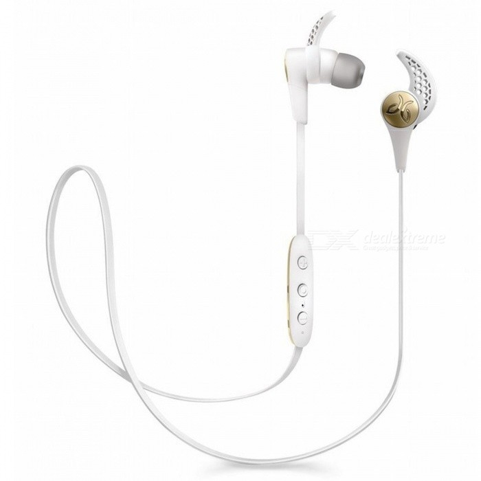 Jaybird X3 Sport Wireless In-Ear Headphone - WhiteHeadphones<br>Form  ColorWhiteBrandOthers,JaybirdModelX3MaterialPlastic + MetalQuantity1 setConnectionBluetoothBluetooth VersionBluetooth V4.1Operating Range10 metersConnects Two Phones SimultaneouslyYesCable Length49 cmLeft &amp; Right Calbes TypeEqual LengthHeadphone StyleIn-EarWaterproof LevelOthers,Sweat-proofApplicable ProductsOthers,All bluetooth enable devicesHeadphone FeaturesPhone Control,Long Time Standby,Volume Control,With Microphone,For Sports &amp; ExerciseSupport Memory CardNoSupport Apt-XYesBattery TypeOthers,Lithium-polymer rechargeable batteryStandby Time110 hoursMusic Play Time8 hoursPacking List1 x Earphone3 x Comply isolation foam ear tips: Small size/Medium size/Large size 3 x Silicone ear tips: Small size/Medium size/Large size 3 x Secure-fit ear fins: Small size/Medium size/Large size 1 x Cord management clips1 x Cord shirt clip1 x USB 2.0 charging cable + charge clip1 x Carry pouch<br>