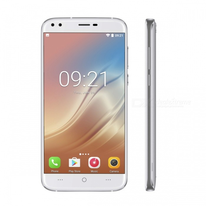 DOOGEE X30 5.5 HD Android 7.0 3G Phone with 2GB RAM 16GB ROM - SilverAndroid Phones<br>Form  ColorShimmer Silvery greyRAM2GBROM16GBBrandDoogeeModelX30Quantity1 pieceMaterialPlastic+ MetalShade Of ColorSilverTypeBrand NewPower AdapterEU PlugHousing Case MaterialPlastic+ MetalNetwork Type2G,3GBand Details2G: GSM 850/900/1800/1900MHz; 3G: WCDMA 850/1900/2100MHzData TransferGPRS,HSDPA,EDGE,LTE,HSUPAWLAN Wi-Fi 802.11 b,g,nSIM Card TypeMicro SIM,Nano SIMSIM Card Quantity2Network StandbyDual Network StandbyGPSYesBluetooth VersionBluetooth V4.0Operating SystemOthers,Android 7.0CPU ProcessorMTK6580CPU Core QuantityQuad-CoreGPUMali-400LanguageAfrikaans / Indonesian / Malay / Czech / Danish / Germany(German) / Germany (Austria) / English(United Kingdom) / English(United States) / Spanish(Espana) / Spanish(Estados Unidos) / Filipino / French / Croatian / Zulu / Italian / Swahili / Latviesu / Lithuanian / Hungarian / Dutch / Norsk bokmal / Polish / Portuguese(Brasil) / Portuguese(Portugal) / Romanian / Rumantsch / Slovak / Slovenscina / Finnish / Swedish / Vietnamese / Turkish / Russian / Greek / Hebrew / Arabic / Hindi / Thai / Korean / Simplified Chinese / Traditional ChineseAvailable Memory12GBMemory CardYes(T-flash card)Max. Expansion Supported128GBSize Range5.5 inches &amp; OverTouch Screen TypeIPSScreen Resolution1280*720Screen Size ( inches)5.5Camera PixelOthers,(8.0MP+8.0MP) Dual Rear CamerasFront Camera Pixels5.0+5.0 MPFlashYesAuto FocusYesTouch FocusYesTalk Time700 minutesStandby Time72 hoursBattery Capacity3360 mAhBattery ModeReplacementfeaturesWi-Fi,GPS,FM,BluetoothSensorG-sensor,Proximity,Gesture,Others,Light sensorWaterproof LevelIPX0 (Not Protected)I/O InterfaceMicro USB,3.5mm,SIM SlotSoftwarePlay Store, E-mail, Gmail, Calculator, File manager, Clock, Calendar, Gallery, Video Player, Music, Sound Recorder, FM Radio, etc.Format SupportedAVI / MP4 / 3GP / MOV / MKV / FLV / FLAC / APE / MP3 / OGG / AMR / AACRadio TunerFMOther Features5.5 HD IPS + Dual Network Standby + Android 7.0 + 2GB RAM + 16GB ROM + Wi-Fi + GPS + FM + OTA + (8.0MP+8.0MP) Dual rear camera + +(5.0MP+5.0MP) Dual front camera + Gesture control + 3360mAh battery + Quad-CoreReference Websites== Will this mobile phone work with a certain mobile carrier of yours? ==Packing List1 x Phone1 x Data cable (70cm)1 x EU plug power adapter (100~240V)1 x English user manual1 x Protective case<br>