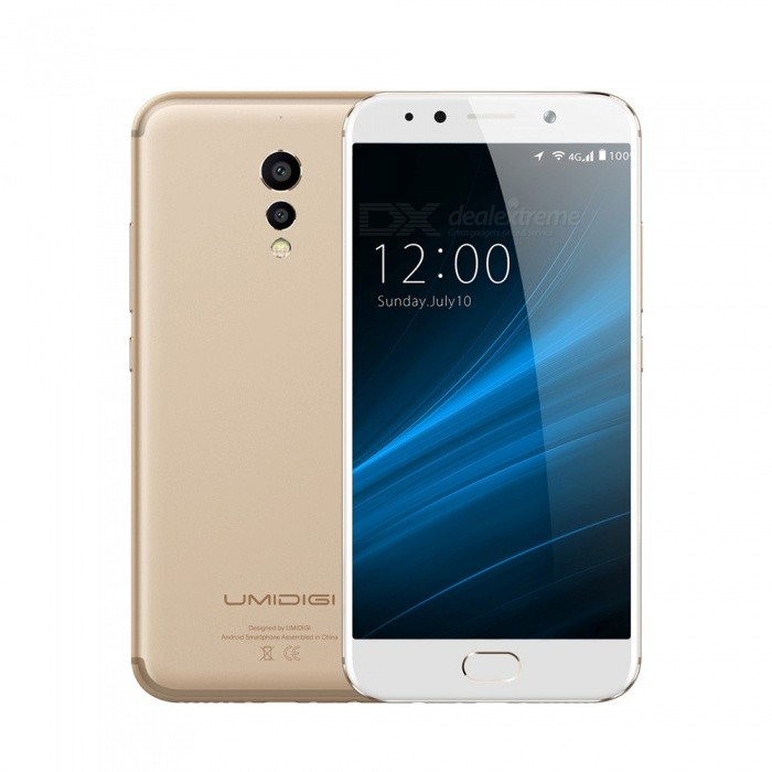 UMIDIGI S 5.5 Octa-core 4G Phone with 4GB RAM 64GB ROM - GoldenAndroid Phones<br>Form  ColorGoldenRAM4GBROM64GBBrandOthers,umidigiModelSQuantity1 pieceMaterialAluminum Alloy UnibodyShade Of ColorGoldTypeBrand NewPower AdapterEU PlugNetwork Type2G,3G,4GBand DetailsGSM 850: (B5)/900(B8)/1800(B3)/1900(B2) WCDMA: 850(B5)/900(B8)/1900(B2)/2100(B1) LTE FDD: 2100(B1) /1800(B3)/2600(B7)/800(B20) Up to 300MbpsData TransferGPRS,HSDPA,EDGE,HSUPAWLAN Dual band Wi-Fi (2.4GHz / 5GHz)SIM Card TypeNano SIMSIM Card Quantity2Network StandbyDual Network StandbyGPSYesBluetooth VersionBluetooth V4.1Operating SystemOthers,UMI OS (base on Android 7.0)CPU ProcessorMTK Helio P20, Octa-Core,  2.3GHz, 8xCortex-A53CPU Core QuantityOcta-CoreGPUARM Mali-T880 MP2 900MHzLanguageEnglish, Bahasa Indonesia, Bahasa Melayu, Cestina, Dansk, Deutsch,<br>Espanol, Filipino, French, Hrvatski, latviesu,lietuviu,Italiano, Magyar,<br>Nederlands, Norsk, Polish, Portuguese, Romana, Slovencina, Suomi,<br>Svenska, Tieng viet, Turkish, Greek, Bulgarian, Russian, Ukrainian,<br>Hebrew, Arabic, Thai, Khmer, Korean, Simplified/Traditional ChineseAvailable Memory60GBMemory CardSupportMax. Expansion SupportedSupport TF card up to 256 GBSize Range5.5 inches &amp; OverTouch Screen TypeYesScreen Resolution1920*1080Multitouch5Screen Edge2.5D Curved EdgeCamera Pixel13.0MPFront Camera Pixels5.0 MPVideo Recording Resolution1080P, 2K, 4KFlashYesAuto FocusPDAF, LaserTalk Time50 hoursStandby Time312 hoursBattery Capacity400 mAhBattery ModeNon-removableQuick ChargeSupportfeaturesWi-Fi,GPS,FM,Bluetooth,OTGSensorG-sensor,Proximity,Compass,Fingerprint authentication sensor,Others,P-Sensor, L-Sensor, Gyroscope, Glonass, Hall switchWaterproof LevelOthers,Not availableI/O InterfaceUSB Type-cReference Websites== Will this mobile phone work with a certain mobile carrier of yours? ==CertificationCE / WEEE / MSDS / UN38.3Packing List1 x S Phone1 x Quick Charge USB Type-C cable1 x PE+Quick Charger1 x SIM eject tool1 x User Menu1 x TPU Transparent Phone Case<br>