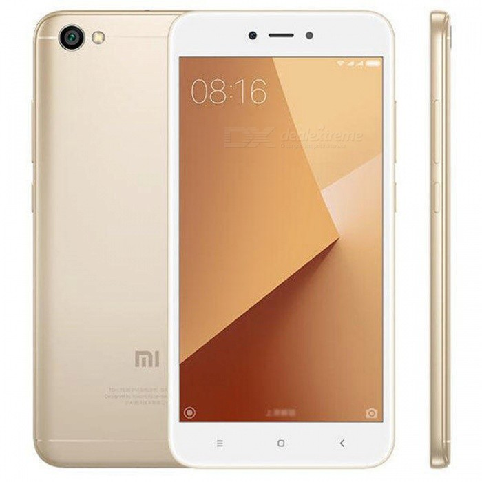 Xiaomi Redmi Note 5A Android 7.0 4G Phone w/ 2GB RAM 16GB ROM - GoldAndroid Phones<br>Form  ColorGoldenRAM2GBROM16GBBrandXiaomiModelRedmi Note 5AQuantity1 pieceMaterialABS + MetalShade Of ColorGoldTypeBrand NewPower AdapterEU PlugNetwork Type2G,3G,4GBand Details2G: GSM 850/900/1800/1900MHz  3G: WCDMA 850/900/1900/2100MHz  4G: FDD-LTE B1/B3/B4/B5/B7/B8/B20         TDD-LTE B38/B40Data TransferHSDPA,LTEWLAN Wi-Fi 802.11 b,g,n,Others,Wi-Fi Direct, hotspotSIM Card TypeNano SIMSIM Card Quantity2Network StandbyDual Network StandbyGPSYes,A-GPS,BDS,GLONASSInfrared PortYesBluetooth VersionBluetooth V4.2Operating SystemOthers,Android 7.0 (Nougat)CPU ProcessorQualcomm MSM8917 Snapdragon 425 Quad core, 4xA53 1.4GhzCPU Core QuantityQuad-CoreGPUAdreno 308LanguageThis phone supports multi-language.Available MemoryN/AMemory CardmicroSDMax. Expansion Supportedup to 256 GB (dedicated slot)Size Range5.5 inches &amp; OverTouch Screen TypeIPSScreen Resolution1280*720MultitouchOthers,YesScreen Size ( inches)5.5Camera type2 x CamerasCamera Pixel13.0MPFront Camera Pixels5.0 MPVideo Recording Resolution1080p@30fpsFlashYesTouch FocusYesOther Camera FeaturesGeo-tagging, touch focus, face detection, HDR, panoramaTalk Time6 hourStandby Time48 hourBattery Capacity3080 mAhBattery ModeNon-removablefeaturesWi-Fi,GPS,FM,BluetoothSensorG-sensor,Proximity,Compass,AccelerometerWaterproof LevelOthers,N/AI/O Interface3.5mm,Micro USB v2.0JAVANoTV TunerNoRadio TunerFMWireless ChargingNoOther FeaturesWIFI, GPS, 4G, 3G, Bluetooth, Games, calendar, calculator, clock, camera, etcReference Websites== Will this mobile phone work with a certain mobile carrier of yours? ==Packing List1 x Xiaomi Redmi Note 5A Smartphone1 x USB Cable1 x Eject Pin1 x EU Charger<br>