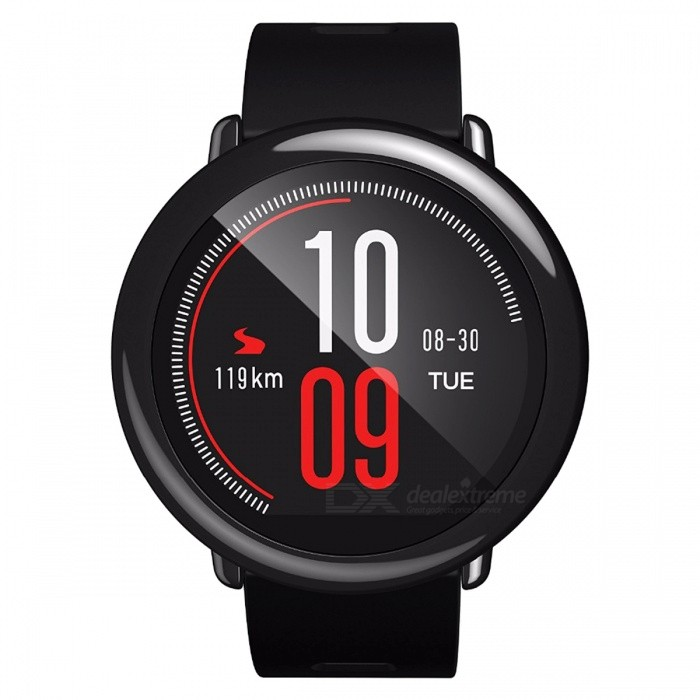 Xiaomi Huami AMAZFIT Pace Sports Smart Watch - Black (International Version)Smart Watches<br>Form  ColorBlack (HongKong Warehouse)Quantity1 pieceMaterialPolycarbonate + Zirconia ceramicsShade Of ColorBlackCPU ProcessorDual core, 1.2GHzScreen Size1.34 inchScreen Resolution320*300Touch Screen TypeCapacitive ScreenBluetooth VersionBluetooth V4.0Compatible OSAndroid 4.4, or above and IOS 7.0 or aboveLanguageEnglishWristband Length25 cmWater-proofIP67Battery ModeReplacementBattery TypeLi-ion batteryBattery Capacity280 mAhStandby Time11.6 daysPacking List1 x Huami Amazfit Smart Watch1 x USB Cable1 x Charging Dock1 x User Manual<br>
