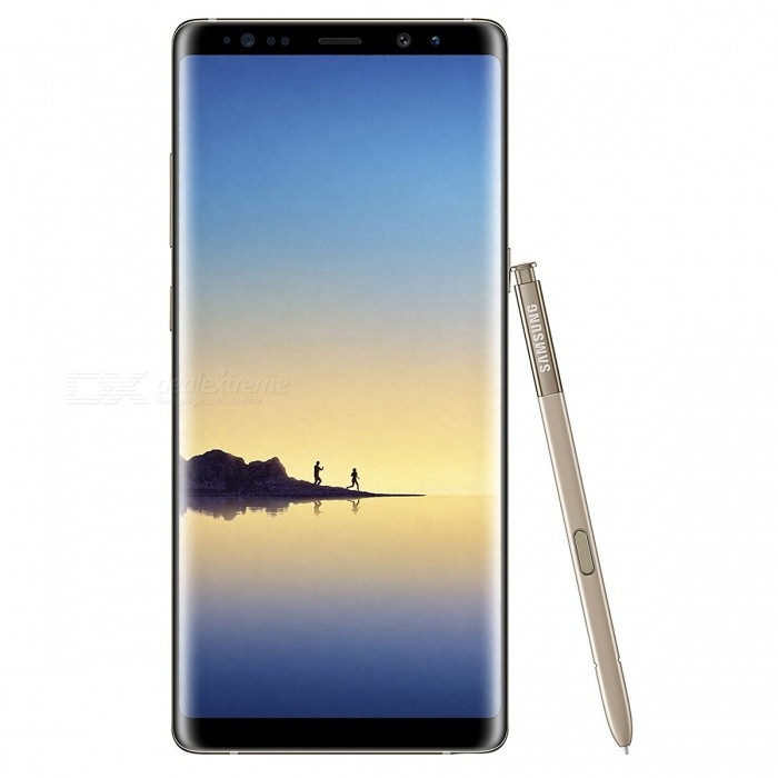 Samsung N9500 Note 8 Dual SIM 6.3 Phone with 6GB RAM, 64GB ROM - Golden (HK Ver.)Android Phones<br>Form  ColorGoldenRAM6GBROM64GBBrandSamsungModelN9500 Note 8Quantity1 pieceMaterialMetal + GlassShade Of ColorGoldTypeBrand NewPower AdapterUK PlugTime of Release2017Network Type2G,3G,4GBand DetailsGSM850/900/1800/1900;  UMTS2100 (B1), UMTS1900 (B2), UMTS850 (B5), UMTS900 (B8); CDMA800 (BC0), TD-SCDMA2000,  TD-SCDMA1900; LTE2100 (B1), LTE1900 (B2), LTE1800 (B3), LTE1700/2100 (B4), LTE850 (B5), LTE2600 (B7), LTE900 (B8), LTE800 (B18), LTE800 (B20),  LTE1900 (B25),  LTE850 (B26), LTE700 (B28), TD-LTE2600 (B38), TD-LTE1900 (B39), TD-LTE2300 (B40), TD-LTE2500 (B41)Data TransferGPRS,HSDPA,EDGE,LTE,HSUPAWLAN Wi-Fi 802.11 a,b,g,n,ac,Others,DLNA, Wi-Fi Tethering, Wi-Fi DirectSIM Card TypeNano SIMSIM Card Quantity2Network StandbyDual Network StandbyGPSYes,A-GPSNFCYesBluetooth VersionOthers,Bluetooth V5.0Operating SystemOthers,Google Android 7.1.1 (Nougat)CPU ProcessorQualcomm Snapdragon 835 MSM8998, 2017, 64 bit, octa-core, 32 Kbyte I-Cache, 32 Kbyte D-Cache, 2048 Kbyte L2, 10 nmCPU Core QuantityOcta-CoreGPUQualcomm Adreno 540LanguageNot SpecifyAvailable Memory52.4GBSize Range5.5 inches &amp; OverTouch Screen TypeYesScreen ResolutionOthers,1440x2960MultitouchOthers,YesScreen Size ( inches)Others,6.3Camera type3 x CamerasCamera PixelOthers,12MP + 12MPFront Camera Pixels8.0 MPVideo Recording Resolution3840x2160 pixel, 30 fpsFlashYesAuto FocusCD AF; PD AFTouch FocusYesOther Camera FunctionsEIS, EIS (video), OIS, OIS (video), HDR photo, HDR video, Red-eye reduction, Slow motion video,  Burst mode, Touch focus, Macro mode,  Panorama Photo, Face detection, Face tagging, Smile detection, Face retouchTalk Time22 hoursStandby TimeN/A hourBattery Capacity3300 mAhBattery ModeNon-removableQuick ChargeYesfeaturesWi-Fi,GPS,Bluetooth,NFC,OTGSensorProximity,Compass,Accelerometer,Heart rate,Barometer,Fingerprint authentication sensor,Others,Hall sensor, Iris scanner, Light sensor, 3D GyroWaterpr