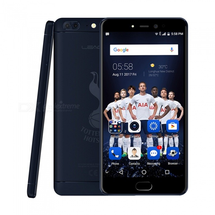 LEAGOO T5 Android 7.0 4G 5.5 FHD Dual SIM Octa-Core Phone w/ 4GB RAM, 64GB ROM - Dark BlueAndroid Phones<br>Form  ColorDeep BlueRAM4GBROM64GBBrandLeagooModelT5Quantity1 setMaterialMetalShade Of ColorBlueTypeBrand NewPower AdapterEU PlugHousing Case MaterialMetalNetwork Type2G,3G,4GBand DetailsGSM: 850/900/1800/1900MHz  WCDMA: 850/900/2100MHz  FDD-LTE: 800/850/900/1800/2100/2600MHzData TransferGPRS,HSDPA,LTEWLAN Wi-Fi 802.11 b,g,nSIM Card TypeNano SIMSIM Card Quantity2Network StandbyDual Network StandbyGPSYesNFCNoInfrared PortNoBluetooth VersionBluetooth V4.0Operating SystemOthers,Android 7.0CPU ProcessorMT6750T   1.5GHzCPU Core QuantityOcta-CoreGPUMali-T860 MP2LanguageAfrikaans / Indonesian / Malay / Czech / Danish / Germany(German) / Germany (Austria) / English(United Kingdom) / English(United States) / Spanish(Espana) / Spanish(Estados Unidos) / Filipino / French / Croatian / Zulu / Italian / Swahili / Latviesu / Lithuanian / Hungarian / Dutch / Norsk bokmal / Polish / Portuguese(Brasil) / Portuguese(Portugal) / Romanian / Rumantsch / Slovak / Slovenscina / Finnish / Swedish / Vietnamese / Turkish / Russian / Greek / Hebrew / Arabic / Hindi / Thai / Korean / Simplified Chinese / Traditional Chinese.Available Memory58GBMemory CardNano SIMMax. Expansion Supported128GBSize Range5.5 inches &amp; OverTouch Screen TypeIPSScreen Resolution1920*1080Screen Size ( inches)5.5Camera type2 x CamerasCamera Pixel13.0MPFront Camera Pixels5.0 MPFlashNoTalk Time30 hoursStandby Time72 hoursBattery Capacity3000 mAhBattery ModeNon-removablefeaturesWi-Fi,GPS,FM,BluetoothSensorG-sensor,ProximityWaterproof LevelIPX0 (Not Protected)Dust-proof LevelNoShock-proofNoI/O InterfaceUSB Type-cSoftwareFacebook, Twitter, Google browser, Google map, Electric Torch, FM RadioFormat SupportedWAV, AMR, MP3, MID, 3GP, RM, MPEG-4, AVIJAVANoTV TunerNoRadio TunerFMWireless ChargingNoOther Features5.5 HD IPS + Dual Network Standby + Android7.0 + 4GB RAM + 64GB ROM + Wi-Fi + GPS + FM  +  5.0MP Front camera+ 13.0MP Rear camera + 3000mAh battery + Octa-Core + Bluetooth 4.0Reference Websites== Will this mobile phone work with a certain mobile carrier of yours? ==Packing List1 x Cell phone1 x Data cable1 x EU Plug Power adapter1 x User manual1 x Warranty manual<br>