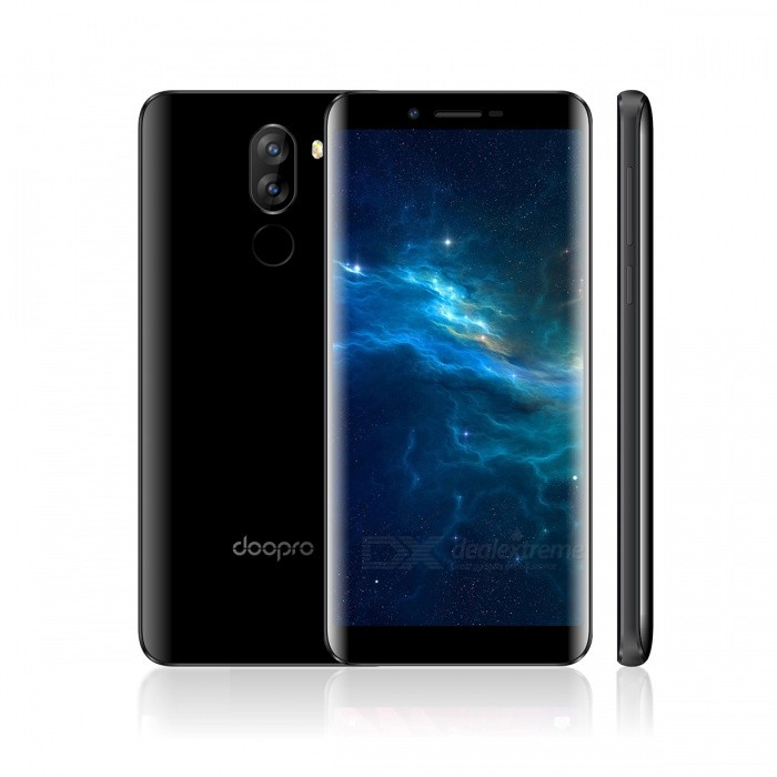 DOOPRO P5 Android 7.0 3G Phone with 1GB RAM, 8GB ROM - BlackAndroid Phones<br>Form  ColorBlackRAM1GBROM8GBBrandOthers,DOOPROModelP5Quantity1 DX.PCM.Model.AttributeModel.UnitMaterialPlasticShade Of ColorBlackTypeBrand NewPower AdapterEU PlugHousing Case MaterialPlasticNetwork Type2G,3GBand Details2G: GSM 850/900/1800/1900MHz; 3G: WCDMA 850/1900/2100MHz;Data TransferGPRS,HSDPA,EDGE,HSUPAWLAN Wi-Fi 802.11 b,g,nSIM Card TypeMicro SIMSIM Card Quantity2Network StandbyDual Network StandbyGPSYes,A-GPSNFCNoInfrared PortNoBluetooth VersionBluetooth V4.0Operating SystemOthers,Android 7.0CPU ProcessorMT6580     1.3GHzCPU Core QuantityQuad-CoreGPUMali-400LanguageAfrikaans / Indonesian / Malay / Czech / Danish / Germany(German) / Germany (Austria) / English(United Kingdom) / English(United States) / Spanish(Espana) / Spanish(Estados Unidos) / Filipino / French / Croatian / Zulu / Italian / Swahili / Latviesu / Lithuanian / Hungarian / Dutch / Norsk bokmal / Polish / Portuguese(Brasil) / Portuguese(Portugal) / Romanian / Rumantsch / Slovak / Slovenscina / Finnish / Swedish / Vietnamese / Turkish / Russian / Greek / Hebrew / Arabic / Hindi / Thai / Korean / Simplified Chinese / Traditional ChineseAvailable Memory4GBMemory CardMicro SD CardMax. Expansion Supported32GBSize Range5.5 inches &amp; OverTouch Screen TypeIPSScreen ResolutionOthers,1280*640Multitouch2Screen Size ( inches)5.5Camera type3 x CamerasCamera PixelOthers,(5.0MP+ 5.0MP) Dual rear cameraFront Camera Pixels2.0 DX.PCM.Model.AttributeModel.UnitFlashYesAuto FocusSupportTouch FocusYesOther Camera FunctionsLED FlashTalk Time600 DX.PCM.Model.AttributeModel.UnitStandby Time72 DX.PCM.Model.AttributeModel.UnitBattery Capacity3500 DX.PCM.Model.AttributeModel.UnitBattery ModeNon-removablefeaturesWi-Fi,GPS,FM,BluetoothSensorG-sensor,Proximity,GestureWaterproof LevelIPX0 (Not Protected)Shock-proofNoI/O InterfaceMicro USB,3.5mmSoftwarePlay Store, E-mail, Gmail, Calculator, File manager, Clock, Calendar, Gallery, Video Player, Music, Sound Recorder, FM Radio, etc.Format SupportedAVI / MP4 / 3GP / MOV / MKV / FLV / FLAC / APE / MP3 / OGG / AMR / AACRadio TunerFMWireless ChargingNoOther Features5.5 HD + IPS + Dual Network Standby + Android 7.0 + 1GB RAM + 8GB ROM + Wi-Fi + GPS + FM + OTA + 5.0MP 5.0MP Dual Rear Camera + 2.0MP Front camera + Gesture control + 3500mAh battery+ Quad CoreReference Websites== Will this mobile phone work with a certain mobile carrier of yours? ==Packing List1 x DOOPRO P5 Phone1 x EU plug power adapter(5V/1A)1 x Micro-USB data cable1 x English user manual<br>