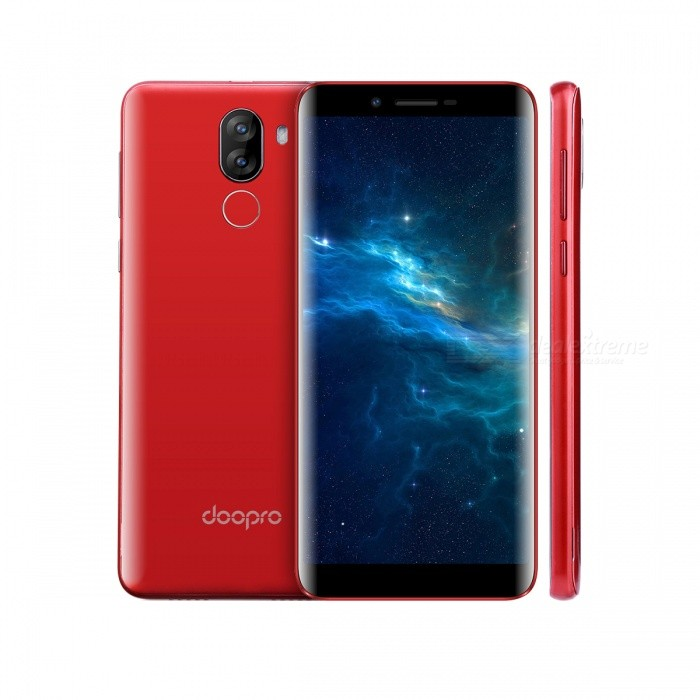 DOOPRO P5 PRO Android 7.0 4G Phone with 2GB RAM, 16GB ROM - RedAndroid Phones<br>Form  ColorRedRAM2GBROM16GBBrandOthers,DOOPROModelP5 PROQuantity1 pieceMaterialPlasticShade Of ColorRedTypeBrand NewPower AdapterEU PlugHousing Case MaterialPlasticNetwork Type2G,3G,4GBand Details2G: GSM 850/900/1800/1900MHz; 3G: WCDMA 900/2100MHz; 4G: FDD-LTE Band 1/3/7/8/20(B1:2100, B3:1800, B7:2600, B8:900, B20:800MHz)Data TransferGPRS,HSDPA,EDGE,LTE,HSUPAWLAN Wi-Fi 802.11 b,g,nSIM Card TypeMicro SIMSIM Card Quantity2Network StandbyDual Network StandbyGPSYes,A-GPSNFCNoInfrared PortNoBluetooth VersionBluetooth V4.0Operating SystemOthers,Android 7.0CPU ProcessorMT6737     1.3GHzCPU Core QuantityQuad-CoreGPUMali-T720LanguageAfrikaans / Indonesian / Malay / Czech / Danish / Germany(German) / Germany (Austria) / English(United Kingdom) / English(United States) / Spanish(Espana) / Spanish(Estados Unidos) / Filipino / French / Croatian / Zulu / Italian / Swahili / Latviesu / Lithuanian / Hungarian / Dutch / Norsk bokmal / Polish / Portuguese(Brasil) / Portuguese(Portugal) / Romanian / Rumantsch / Slovak / Slovenscina / Finnish / Swedish / Vietnamese / Turkish / Russian / Greek / Hebrew / Arabic / Hindi / Thai / Korean / Simplified Chinese / Traditional ChineseAvailable Memory11GBMemory CardMicro SD CardMax. Expansion Supported64GBSize Range5.5 inches &amp; OverTouch Screen TypeIPSScreen ResolutionOthers,1280*640Multitouch2Screen Size ( inches)5.5Camera type3 x CamerasCamera PixelOthers,(5.0MP+ 5.0MP) Dual rear cameraFront Camera Pixels2.0 MPFlashYesAuto FocusSupportTouch FocusYesTalk Time600 minutesStandby Time72 hoursBattery Capacity3500 mAhBattery ModeNon-removablefeaturesWi-Fi,GPS,FM,Bluetooth,NFCSensorG-sensor,Proximity,Gesture,Fingerprint authentication sensorWaterproof LevelIPX0 (Not Protected)Shock-proofNoI/O InterfaceMicro USB,3.5mmSoftwarePlay Store, E-mail, Gmail, Calculator, File manager, Clock, Calendar, Gallery, Video Player, Music, Sound Recorder, FM Radio, etc.Format SupportedAVI / MP4 / 3GP / MOV / MKV / FLV / FLAC / APE / MP3 / OGG / AMR / AACRadio TunerFMWireless ChargingNoOther Features5.5 HD + IPS + Dual Network Standby + Android 7.0 + 2GB RAM + 16GB ROM + Wi-Fi + GPS + FM + OTA + 5.0MP 5.0MP Dual Rear Camera + 2.0MP Front camera + Gesture control + 3500mAh battery+ Quad Core + MT6737Reference Websites== Will this mobile phone work with a certain mobile carrier of yours? ==Packing List1 x DOOPRO P5 PRO Phone1 x EU plug power adapter (5V/1A)1 x Micro USB data cable1 x English user manual<br>