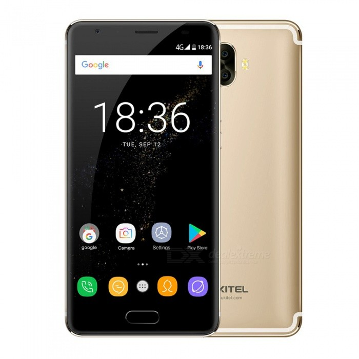 OUKITEL K8000 5.5 Octa-core AMOELD 4G Phone with 4GB RAM 64GB ROM - GoldAndroid Phones<br>Form  ColorGoldenRAM4GBROM64GBBrandOUKITELModelK8000Quantity1 pieceMaterialAluminum alloyShade Of ColorGoldTypeBrand NewPower AdapterEU PlugHousing Case MaterialAluminum alloyNetwork Type2G,3G,4GBand Details2G: GSM 850/900/1800/1900MHz; 3G: WCDMA 900/2100MHz; 4G: FDD-LTE Band 1/3/7/20(B1:2100, B3:1800, B7:2600, B20:800MHz)Data TransferGPRSWLAN Wi-Fi 802.11 b,g,nSIM Card TypeNano SIMSIM Card Quantity2Network StandbyDual Network StandbyGPSYes,A-GPS,GLONASSNFCNoInfrared PortNoBluetooth VersionBluetooth V4.2Operating SystemOthers,Android 7.0CPU ProcessorMT6750T 1.5GHzCPU Core QuantityOcta-CoreGPUMaliT860-MP2 680MHZLanguageAfrikaans, Indonesian, Malay, Czech, Danish, Germany(German), Germany (Austria), English(United Kingdom), English(United States), Spanish(Espana), Spanish(Estados Unidos), Filipino, French, Croatian, Zulu, Italian, Swahili, Latviesu, Lithuanian, Hungarian, Dutch, Norsk bokmal, Polish, Portuguese(Brasil), Portuguese(Portugal), Romanian, Rumantsch, Slovak, Slovenscina, Finnish, Swedish, Vietnamese, Turkish, Russian, Greek, Hebrew, Arabic, Hindi, Thai, Korean, Simplified Chinese, Traditional ChineseAvailable Memory54GBMemory CardMicro SDMax. Expansion Supported64GBSize Range5.5 inches &amp; OverTouch Screen TypeAMOLEDScreen Resolution1280*720Multitouch5Screen Size ( inches)5.5Screen Edge2.5D Curved EdgeCamera type3 x CamerasCamera PixelOthers,16MP+2MPFront Camera Pixels13 MPFlashYesAuto FocusyesTouch FocusYesTalk Time24 hourStandby Time15 daysBattery Capacity8000 mAhBattery ModeNon-removableQuick ChargeOutput 9V-2AfeaturesWi-Fi,GPS,FM,Bluetooth,OTGSensorFingerprint authentication sensorWaterproof LevelIPX0 (Not Protected)Shock-proofNoI/O Interface3.5mm,OTGSoftwarePlay Store, E-mail, Gmail, Calculator, File manager, Clock, Calendar, Gallery, Video Player, Music, Sound Recorder, FM RadioFormat Supportedmp4 m4v 3gpp wmv mkv aviJAVANoTV TunerNoRadio TunerFMWireless ChargingNoReference Websites== Will this mobile phone work with a certain mobile carrier of yours? ==Packing List1 x Phone1 x EU plug power adapter1 x Data cable1 x English user manual1 x OTG cable1 x Protective shell<br>