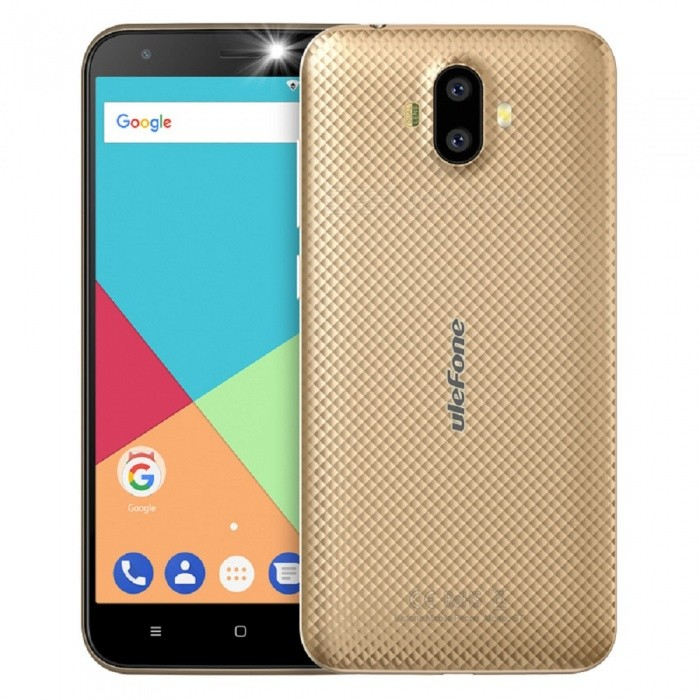 Ulefone S7 Android 7.0 5.0 HD Quad-core Dual Sim Dual Standby 3G Phone with 1GB RAM, 8GB ROM - GoldenAndroid Phones<br>Form  ColorGoldenRAM1GBROM8GBBrandUlefoneModelS7Quantity1 pieceMaterialPCShade Of ColorGoldTypeBrand NewPower AdapterEU PlugHousing Case MaterialPCTime of Release2017.9.30Network Type2G,3GBand DetailsGSM:850/900/1800/1900(B5/8/3/2.WCDMA: 2100/900(B1/8Data TransferGPRS,EDGEWLAN Wi-Fi 802.11 b,g,nSIM Card TypeStandard SIM,Micro SIMSIM Card Quantity2Network StandbyDual Network StandbyGPSYes,A-GPSNFCNoInfrared PortNoBluetooth VersionBluetooth V4.0Operating SystemAndroid 7.xCPU ProcessorQuad-core 32-bit 1.3GHzCPU Core QuantityQuad-CoreGPUMali-400LanguageIndonesian, Malay, Catalan, Czech, Danish, German, Estonian, English, Spanish, Filipino, French, Croatian, Italian, Latvian, Lithuanian, Hungarian, Dutch, Norwegian, Polish, Portuguese, Romanian, Slovak, Finnish, Swedish, Vietnamese, Greek, Turkish, Bulgarian, Russian, Serb, Ukrainian, Armenian, Hebrew, Urdu, Arabic, Persian, Hindi, Bengali, Thai, Korean, Burmese, Japanese, Simplified Chinese, Traditional ChineseAvailable Memory5GBMemory CardTF CardMax. Expansion Supported128GBSize Range5.0~5.4 inchesTouch Screen TypeCapacitive ScreenScreen Resolution1280*720Multitouch2Screen Size ( inches)5.0Camera type2 x CamerasCamera PixelOthers,(8.0MP+5.0MP) Dual rear cameraFront Camera Pixels5.0 MPFlashYesTouch FocusYesTalk Time7 hoursStandby Time80 hoursBattery Capacity2500 mAhBattery ModeReplacementfeaturesWi-Fi,GPS,BluetoothSensorG-sensorWaterproof LevelIPX0 (Not Protected)I/O Interface3.5mm,Micro USB v2.0SoftwareGoogle Normal SoftwareFormat SupportedMIDI.MP3.AAC. ARM. AWB. WAV.FLAC.3GPP.MPEG-4.H.264.WMV9.VP9TV TunerNoRadio TunerFMWireless ChargingNoOther Features5.0 Inch+ HD+ Dual Camera 8MP+5MP / 5MP+ MTK 6580  Quad-core CPU+ 3G Smartphone Rear Led Flash + EU Plug+Rear LED FlashReference Websites== Will this mobile phone work with a certain mobile carrier of yours? ==CertificationCE.MSDSPacking List1 x Phone 1 x Data cable (100cm)1 x TPU protective case1 x AC power charger adapter ( 100~240V / EU plug) 1 x Warranty card1 x Multi-language user manual<br>
