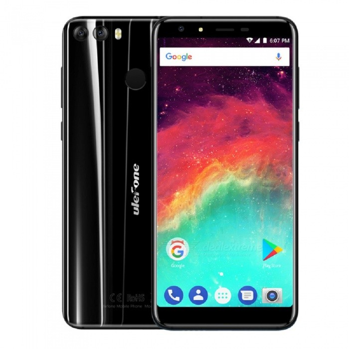 Ulefone MIX 2 5.7 Inch 18:9 Screen Android 7.0 4G Phone w/ 2GB RAM + 16GB ROM - BlackAndroid Phones<br>Form  ColorBlackRAM2GBROM16GBBrandUlefoneModelMIX 2Quantity1 pieceMaterialzinc alloyShade Of ColorBlackTypeBrand NewPower AdapterEU PlugHousing Case Materialzinc alloyTime of Release2017.11.1Network Type2G,3G,4GBand DetailsGSM:850/900/1800/1900(B5/8/3/2 WCDMA: 2100/900(B1/8 FDD-LTE:2100/1800/2600/900/800(B1/3/7/8/20)Data TransferGPRS,HSDPA,EDGE,LTE,HSUPAWLAN Wi-Fi 802.11 b,g,nSIM Card TypeMicro SIM,Nano SIMSIM Card Quantity2Network StandbyDual Network StandbyGPSYes,A-GPSBluetooth VersionBluetooth V4.1Operating SystemAndroid 7.xCPU ProcessorMTK MT6737H<br>Quad-core 64-bit 1.3GHzCPU Core QuantityQuad-CoreGPUARM Mali-T720LanguageIndonesian, Malay, Catalan, Czech, Danish, German, Estonian, English, Spanish, Filipino, French, Croatian, Italian, Latvian, Lithuanian, Hungarian, Dutch, Norwegian, Polish, Portuguese, Romanian, Slovak, Finnish, Swedish, Vietnamese, Greek, Turkish, Bulgarian, Russian, Serb, Ukrainian, Armenian, Hebrew, Urdu, Arabic, Persian, Hindi, Bengali, Thai, Korean, Burmese, Japanese, Simplified Chinese, Traditional ChineseAvailable Memory9GMemory CardTF CardMax. Expansion Supported128GSize Range5.5 inches &amp; OverTouch Screen TypeIPSScreen ResolutionOthers,720*1440Multitouch5Screen Size ( inches)5.7Camera type2 x CamerasCamera PixelOthers,13MP + 5.0MPFront Camera Pixels5.0MP / SW 8.0 MPFlashYesTouch FocusYesTalk Time9 hoursStandby Time72 hoursBattery Capacity3300 mAhBattery ModeReplacementQuick ChargeNOfeaturesWi-Fi,GPS,FM,Bluetooth,OTGSensorG-sensor,Proximity,Compass,Fingerprint authentication sensorWaterproof LevelIPX0 (Not Protected)I/O Interface3.5mm,Micro USB v2.0,OTGSoftwarePlay Store, E-mail, Gmail, Calculator, File manager, Clock, Calendar, Gallery, Video Player, Music, Sound Recorder, etc.Format SupportedMIDI.MP3.AAC.ARM.AWB.WAV.FLAC.Radio TunerFMOther Features(5.7 HD+) + IPS + Dual Network Standby + Android 7.0 + 2GB RAM + 16GB ROM + Wi-Fi + GPS + FM + OTG + 13.0MP 5.0MP Dual Rear Camera Lens + 8.0MP  + 3300mAh battery + Fingerprint sensor + Quad core +  USB 2.0Reference Websites== Will this mobile phone work with a certain mobile carrier of yours? ==CertificationGMS.CE.MSDS.UN38.3 ect.Packing List1 x Phone 1 x Data cable (100cm)1 x Protective film1 x Protective case1 x AC power charger adapter ( 100~240V / EU plug) 1 x Warranty card1 x Multi-language user manual1 x Phone stand with finger ring<br>