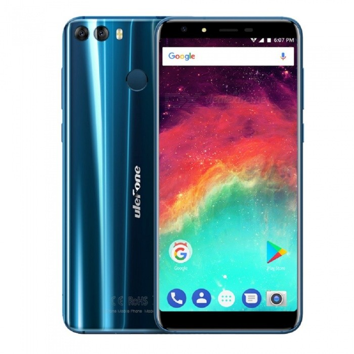 Ulefone MIX 2 5.7 Inch 18:9 Screen Android 7.0 4G Phone w/ 2GB RAM + 16GB ROM - BlueAndroid Phones<br>Form  ColorBlueRAM2GBROM16GBBrandUlefoneModelMIX 2Quantity1 pieceMaterialzinc alloyShade Of ColorBlueTypeBrand NewPower AdapterEU PlugHousing Case Materialzinc alloyTime of Release2017.11.1Network Type2G,3G,4GBand DetailsGSM:850/900/1800/1900(B5/8/3/2 WCDMA: 2100/900(B1/8 FDD-LTE:2100/1800/2600/900/800(B1/3/7/8/20)Data TransferGPRS,HSDPA,EDGE,LTE,HSUPAWLAN Wi-Fi 802.11 b,g,nSIM Card TypeMicro SIM,Nano SIMSIM Card Quantity2Network StandbyDual Network StandbyGPSYes,A-GPSBluetooth VersionBluetooth V4.1Operating SystemAndroid 7.xCPU ProcessorMTK MT6737H<br>Quad-core 64-bit 1.3GHzCPU Core QuantityQuad-CoreGPUARM Mali-T720LanguageIndonesian, Malay, Catalan, Czech, Danish, German, Estonian, English, Spanish, Filipino, French, Croatian, Italian, Latvian, Lithuanian, Hungarian, Dutch, Norwegian, Polish, Portuguese, Romanian, Slovak, Finnish, Swedish, Vietnamese, Greek, Turkish, Bulgarian, Russian, Serb, Ukrainian, Armenian, Hebrew, Urdu, Arabic, Persian, Hindi, Bengali, Thai, Korean, Burmese, Japanese, Simplified Chinese, Traditional ChineseAvailable Memory9GBMemory CardTF CardMax. Expansion Supported128GSize Range5.5 inches &amp; OverTouch Screen TypeIPSScreen ResolutionOthers,720*1440Multitouch5Screen Size ( inches)5.7Camera type2 x CamerasCamera PixelOthers,13MP + 5.0MPFront Camera Pixels5.0MP / SW 8.0 MPFlashYesTouch FocusYesTalk Time9 hoursStandby Time72 hoursBattery Capacity3300 mAhBattery ModeReplacementQuick ChargeNOfeaturesWi-Fi,GPS,FM,Bluetooth,OTGSensorG-sensor,Proximity,Compass,Fingerprint authentication sensorWaterproof LevelIPX0 (Not Protected)I/O Interface3.5mm,Micro USB v2.0,OTGSoftwarePlay Store, E-mail, Gmail, Calculator, File manager, Clock, Calendar, Gallery, Video Player, Music, Sound Recorder, etc.Format SupportedMIDI.MP3.AAC.ARM.AWB.WAV.FLAC.Radio TunerFMOther Features(5.7 HD+) + IPS + Dual Network Standby + Android 7.0 + 2GB RAM + 16GB ROM + Wi-Fi + GPS + FM + OTG + 13.0MP 5.0MP Dual Rear Camera Lens + 8.0MP  + 3300mAh battery + Fingerprint sensor + Quad core +  USB 2.0Reference Websites== Will this mobile phone work with a certain mobile carrier of yours? ==CertificationGMS.CE.MSDS.UN38.3 ect.Packing List1 x Phone 1 x Data cable (100cm)1 x Protective film1 x Protective case1 x AC power charger adapter ( 100~240V / EU plug) 1 x Warranty card1 x Multi-language user manual1 x Phone stand with finger ring<br>