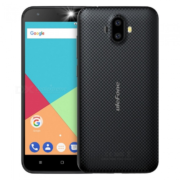 Ulefone S7 Android 7.0 5.0 HD Quad-core Dual Sim Dual Standby 3G Phone with 2GB RAM, 16GB ROM - BlackAndroid Phones<br>Form  ColorBlackRAM2GBROM16GBBrandUlefoneModelS7Quantity1 pieceMaterialPCShade Of ColorBlackTypeBrand NewPower AdapterEU PlugHousing Case MaterialPCTime of Release2017.11.25Network Type2G,3GBand DetailsGSM:850/900/1800/1900(B5/8/3/2.WCDMA: 2100/900(B1/8Data TransferGPRS,EDGEWLAN Wi-Fi 802.11 b,g,nSIM Card TypeStandard SIM,Micro SIMSIM Card Quantity2Network StandbyDual Network StandbyGPSYes,A-GPSNFCNoInfrared PortNoBluetooth VersionBluetooth V4.0Operating SystemAndroid 7.xCPU ProcessorQuad-core 32-bit 1.3GHzCPU Core QuantityQuad-CoreGPUMali-400LanguageIndonesian, Malay, Catalan, Czech, Danish, German, Estonian, English, Spanish, Filipino, French, Croatian, Italian, Latvian, Lithuanian, Hungarian, Dutch, Norwegian, Polish, Portuguese, Romanian, Slovak, Finnish, Swedish, Vietnamese, Greek, Turkish, Bulgarian, Russian, Serb, Ukrainian, Armenian, Hebrew, Urdu, Arabic, Persian, Hindi, Bengali, Thai, Korean, Burmese, Japanese, Simplified Chinese, Traditional ChineseAvailable Memory11GBMemory CardTF CardMax. Expansion Supported128GBSize Range5.0~5.4 inchesTouch Screen TypeIPSScreen Resolution1280*720Multitouch2Screen Size ( inches)5.0Camera type2 x CamerasCamera PixelOthers,(8.0MP+5.0MP) Dual rear cameraFront Camera Pixels5.0 MPFlashYesTouch FocusYesTalk Time7 hoursStandby Time80 hoursBattery Capacity2500 mAhBattery ModeReplacementfeaturesWi-Fi,GPS,BluetoothSensorG-sensor,GestureWaterproof LevelIPX0 (Not Protected)I/O Interface3.5mm,Micro USB v2.0SoftwareGoogle Normal SoftwareFormat SupportedMIDI.MP3.AAC. ARM. AWB. WAV.FLAC.3GPP.MPEG-4.H.264.WMV9.VP9TV TunerNoRadio TunerFMWireless ChargingNoOther Features5.0 Inch+ HD+ Dual Camera 8MP+5MP / 5MP+ MTK 6580  Quad-core CPU+ 3G Smartphone Rear Led Flash + EU Plug+Rear LED Flash+Gesture+Ram 2G+Rom16GReference Websites== Will this mobile phone work with a certain mobile carrier of yours? ==CertificationCE.MSDSPacking List1 x Phone 1 x Data cable (100cm)1 x TPU protective case1 x AC power charger adapter ( 100~240V / EU plug) 1 x Warranty card1 x Multi-language user manual<br>