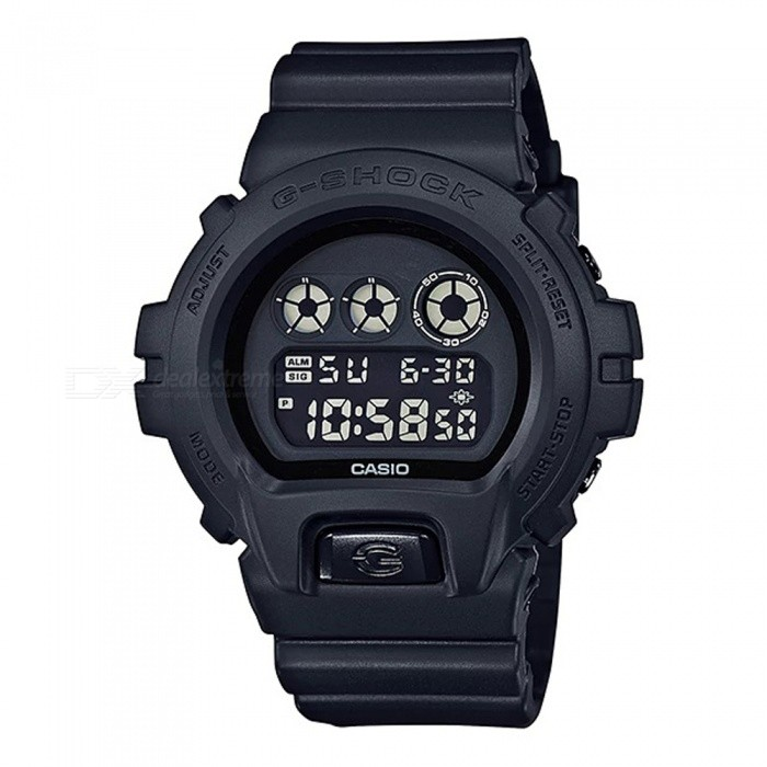 Casio G-Shock DW-6900BB-1 Mens Digital Wrist Watch - BlackSport Watches<br>Form  ColorBlackModelDW-6900BB-1Quantity1 pieceShade Of ColorBlackCasing MaterialResinWristband MaterialResinSuitable forAdultsGenderMenStyleWrist WatchTypeCasual watchesDisplayDigitalBacklightElectro-luminescent backlightMovementDigitalDisplay Format12/24 hour time formatWater ResistantOthers,200-meter water resistanceDial Diameter5.32 cmDial Thickness1.63 cmWristband Length23 cmBand Width2.5 cmBattery1 x CR2016Packing List1 x DW-6900BB-1 Watch<br>