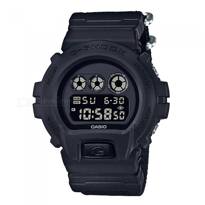 Casio G-Shock Cordura  DW-6900BBN-1 Mens Digital Watch - BlackSport Watches<br>Form  ColorBlackModelDW-6900BBN-1Quantity1 pieceShade Of ColorBlackCasing MaterialResinWristband MaterialClothSuitable forAdultsGenderMenStyleWrist WatchTypeCasual watchesDisplayDigitalBacklightElectro-luminescent backlightMovementDigitalDisplay Format12/24 hour time formatWater ResistantOthers,200-meter water resistanceDial Diameter5.32 cmDial Thickness1.63 cmWristband Length23 cmBand Width2.5 cmBattery1 x CR2016Packing List1 x DW-6900BBN-1 Watch<br>