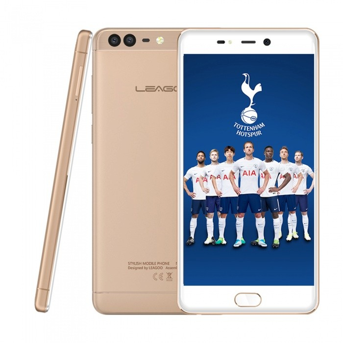 LEAGOO T5C Android 7.0 4G 5.5 Dual SIM Octa-Core Phone with 3GB RAM, 32GB ROM - GoldenAndroid Phones<br>Form  ColorGoldenRAM3GBROM32GBBrandLeagooModelT5CQuantity1 setMaterialMetalShade Of ColorGoldTypeBrand NewPower AdapterEU PlugHousing Case MaterialMetalNetwork Type2G,3G,4GBand DetailsGSM: 850/900/1800/1900MHz    WCDMA: 850/900/2100MHz    FDD-LTE: 800/850/900/1800/2100/2600MHz (Band 1,3,5,7,8,20)Data TransferGPRS,LTEWLAN Wi-Fi 802.11 b,g,nSIM Card TypeNano SIMSIM Card Quantity2Network StandbyDual Network StandbyGPSYesNFCNoInfrared PortNoBluetooth VersionBluetooth V4.2Operating SystemOthers,Android 7.0CPU ProcessorSC9853   1.8GHzCPU Core QuantityOcta-CoreGPUMali-T820 MP2LanguageBulgarian,Catalan,Czech,Danish,German,Greek,English,English United States,English United Kingdom,English Indin,English ZG,Spanish,Estonian,Japanese,French,Hindi,Croatian,Hungarian,Indonesian,Italian,Hebrew,Japanese,Lithuanian,Latvian,Malaysian,Burmese,Norwegian,Dutch,Polish,Portuguese,Romanian,Russian,Slovak,Slovenian,Serbian,Swedish,Thai,Turkish,Ukrainian,Uzbek,Vietnamese,Chinese Simplified,Chinese Traditional,Chinese Traditional,Filipino,KoreanAvailable Memory28GBMemory CardTF CardMax. Expansion Supported32GBSize Range5.5 inches &amp; OverTouch Screen TypeIPSScreen Resolution1920*1080Screen Size ( inches)5.5Camera type3 x CamerasCamera PixelOthers,13MP +2MPFront Camera Pixels5 MPFlashYesTalk Time20 hourStandby Time78 hourBattery Capacity3000 mAhBattery ModeNon-removablefeaturesWi-Fi,GPS,FM,BluetoothSensorG-sensor,AccelerometerWaterproof LevelIPX0 (Not Protected)Dust-proof LevelNOShock-proofNoI/O InterfaceMicro USB v2.0SoftwareSMS(threaded view),MMS,Email,Push Email,IMFormat SupportedMP3/eAAC+/WAV/MP4JAVANoTV TunerNoRadio TunerFMWireless ChargingNoOther Features5.5  IPS + Dual Network Standby + Android7.0 + 3GB RAM + 32GB ROM + Wi-Fi + GPS + FM  +  5.0MP Front camera+ 13.0MP Rear camera + 3000mAh battery + Octa-CoreReference Websites== Will this mobile phone work with a certain mobile carrier of yours? ==Packing List1 x Cell phone1 x Power adapter1 x User manual1 x Warranty manual<br>