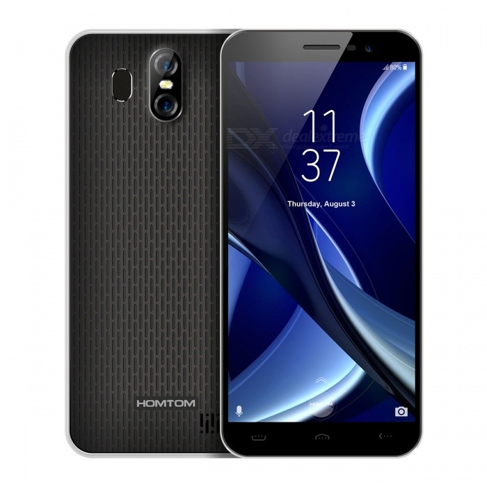 HOMTOM S16 5.5-inch 640*1280 HD IPS 18:9 Full Display Phone with 2GB RAM + 16GB ROM - BlackAndroid Phones<br>Form  ColorBlack + WhiteRAM2GBROM16GBBrandOthers,HOMTOMModelS16Quantity1 setMaterialPlasticShade Of ColorBlackPower AdapterEU PlugHousing Case MaterialPlasticTime of Release2017Network Type2G,3GBand DetailsGSM  B5850/ B8900/ B31800/ B21900   WCDMA  B12100 / B2(1900)/ B5850Data TransferGPRSWLAN Wi-Fi 802.11 b,g,nSIM Card TypeMicro SIMSIM Card Quantity2Network StandbyDual Network StandbyGPSYes,A-GPSNFCNoInfrared PortNoBluetooth VersionBluetooth V4.0Operating SystemAndroid 7.xCPU ProcessorMT6580 1.3GHZCPU Core QuantityQuad-CoreGPUMali-400MP2LanguageArabic(Egypt),Chinese Simplified,Chinese Tradition,Chinese,<br>Dutch(Netherlands),English,French,German,Italian,Portuguese,Spanish,Bengali,Croatian,<br>Czech,Danish,Greek,Hebrew,Hindi,Hungarian,Indonesian,Japanese,Korean,Malay,<br>Perisan,Polish,Romanian,Russian,Serbian,Swedish,Thai,Turkey,Urdu,Vietnamese,Catalan,<br>Latviesu,Lithuanian,Norwegian,slovencina,Slovenian,bulgarian,Ukrainian,Filipino,Finnish,<br>Burmese(Paduak),Khmer,Estonian,Armenian,KazakhAvailable Memory12GBMemory CardSupport MicroSD TFMax. Expansion SupportedUP TO 64GBSize Range5.5 inches &amp; OverTouch Screen TypeIPSScreen ResolutionOthers,640*1280Screen Size ( inches)5.5Camera type3 x CamerasCamera PixelOthers,13.0MP+2.0MPFront Camera Pixels8.0 MPFlashYesTouch FocusYesOther Camera FunctionsBeauty effect, Facial beautification,Panoramic shooting,HDR,Auto-focusTalk Time350 hoursStandby Time12.5 hoursBattery Capacity3000 mAhBattery ModeReplacementfeaturesWi-Fi,GPS,FM,BluetoothSensorG-sensor,Proximity,Accelerometer,Fingerprint authentication sensorWaterproof LevelIPX0 (Not Protected)I/O InterfaceMicro USB,3.5mm,SIM Slot,Micro USB v2.0JAVAYesRadio TunerFMWireless ChargingNoReference Websites== Will this mobile phone work with a certain mobile carrier of yours? ==Packing List1 x Phone1 x Data cable1 x EU plug power adapter1 x English user manual1 x TPU Pr