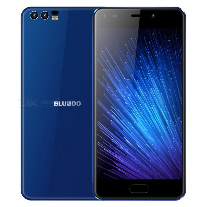 BLUBOO D2 5.0 Android 6.0 3G Phone w/ 1GB RAM, 8GB ROM - BlueAndroid Phones<br>ColorBlueROM8GBRAM1GBBrandOthers,blubooModelD2Quantity1 piecesMaterialPCShade Of ColorBlueTypeBrand NewPower AdapterEU PlugHousing Case MaterialPCTime of Release2017/12/15Network Type2G,3GBand DetailsGSM: B5(850)/B8(900)/B3(1800)/B2(1900) WCDMA: B1(2100)/B8(900)Data TransferGPRSWLAN Wi-Fi 802.11 b,g,nSIM Card TypeMicro SIMSIM Card Quantity2Network StandbyDual Network StandbyGPSYes,A-GPSNFCNoInfrared PortNoBluetooth VersionBluetooth V4.0Operating SystemAndroid 6.0CPU ProcessorMT6580A Quad-core 1.3GHzCPU Core QuantityQuad-CoreGPUMali-400MP2 500MHzLanguageEnglish, Spanish, Portuguese (Brazil), Portuguese (Portugal), Italian, German,  French, Russian, Arabic, Malay, Thai, Greek, Ukrainian, Croatian, Czech, Simplified Chinese, Traditional Chinese.Available Memory8GBMemory CardSDMax. Expansion Supported128GBSize Range5.0~5.4 inchesTouch Screen TypeTFTScreen Resolution1280*720Multitouch2Screen Size ( inches)5.0Screen Edge2D Curved EdgeCamera type3 x CamerasCamera PixelOthers,8.0MP+ 3.0MP FFFront Camera Pixels8.0 MPVideo Recording Resolution1080PFlashYesAuto FocusYESTouch FocusYesOther Camera FunctionsNOOther Camera FeaturesNOTalk Time14 hoursStandby Time18 hoursBattery Capacity3300 mAhBattery ModeReplacementQuick ChargeNOfeaturesWi-Fi,GPS,FM,BluetoothSensorProximity,AccelerometerWaterproof LevelIPX0 (Not Protected)Dust-proof LevelNOShock-proofNoI/O InterfaceMicro USB v2.0SoftwareNOFormat SupportedMP3, AAC,ASF,etc,MP4,3GP,MOV,MKV,AVI,FLV,MPEGJAVAYesTV TunerNoRadio TunerFMWireless ChargingQIReference Websites== Will this mobile phone work with a certain mobile carrier of yours? ==CertificationCEPacking List1 x Charger1 x USB Data Cable1 x Quick Guide1 x Warranty Card1 x Film protector1 x Phone cover 1 x Ring Phone Holder1 x Card pin<br>