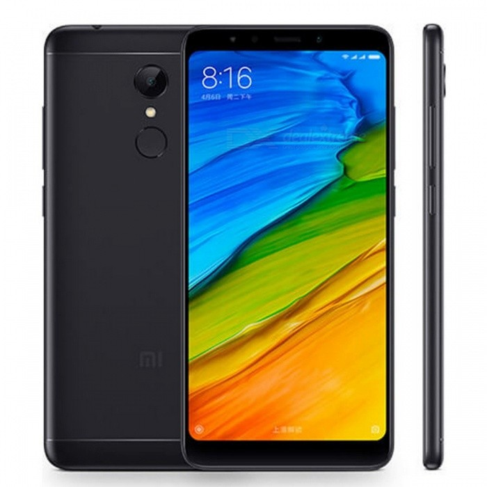 Xiaomi Redmi 5 Plus 5.99 Inches 18:9 Full Screen Phone Snapdragon 625 Octa-Core 4000mAh 3GB RAM 32GB ROM - BlackAndroid Phones<br>Form  ColorBlackRAM3GBROM32GBBrandXiaomiModelXiaomi Redmi 5 Plus (3GB+32GB)Quantity1 pieceMaterialFront glass, aluminum bodyShade Of ColorBlackTypeBrand NewPower AdapterUS PlugNetwork Type2G,3G,4GBand Details2G: GSM 850/900/1800/1900MHz         CDMA 1X BC0  3G: WCDMA 850/900/1900/2100MHz         CDMA 2000 BC0         TDS-CDMA B34/B39  4G: FDD-LTE B1/B3/B5/B7/B8         TDD-LTE B34/B38/B39/B40/B41Data TransferGPRS,LTE,HSUPAWLAN Wi-Fi 802.11 a,b,g,n,Dual band Wi-Fi (2.4GHz / 5GHz),Others,WIFI Display, WiFi DirectSIM Card TypeNano SIMSIM Card Quantity2Network StandbyDual Network StandbyGPSYes,A-GPS,BDS,GLONASSInfrared PortYesBluetooth VersionBluetooth V4.2,Others,Bluetooth HIDOperating SystemOthers,Android 7.1.2 (Nougat)CPU ProcessorQualcomm MSM8953 Snapdragon 625 Octa-core 2.0 GHz Cortex-A53CPU Core QuantityOcta-CoreGPUAdreno 506LanguageThis phone supports multi-language.Available MemoryN/AMemory CardMicro-SDMax. Expansion Supportedup to 128GBSize Range5.5 inches &amp; OverTouch Screen TypeOthers,IPS LCD capacitive touchscreen, 16M colorsScreen ResolutionOthers,1080 x 2160 pixels, 18:9 ratio (~403 ppi density)MultitouchOthers,YesScreen Size ( inches)Others,5.99 inches, 92.6 cm2 (~77.4% screen-to-body ratio)Camera type2 x CamerasCamera PixelOthers,12 MP (f/2.2, 1.25 m), phase detection autofocus, dual-LED dual-tone flashFront Camera Pixels5.0 MPVideo Recording Resolution1080p video recording, 30fps<br>720p video recording, 30fpsFlashYesAuto FocusYesTouch FocusYesOther Camera FunctionsGeo-tagging, touch focus, face/smile detection, HDR, panoramaTalk TimeN/A hourStandby TimeN/A hourBattery Capacity4000 mAhBattery ModeNon-removableQuick Charge5V/2AfeaturesWi-Fi,GPS,BluetoothSensorG-sensor,Proximity,Compass,Accelerometer,Fingerprint authentication sensor,Others,gyroWaterproof LevelIPX0 (Not Protected)I/O InterfaceMicro USB,3.5mmReference Websites== Will this mobile phone work with a certain mobile carrier of yours? ==ColorBlackPacking List1 x Xiaomi Redmi 5 Plus Smartphone 1 x USB Cable 1 x Eject Pin 1 x Protective Case 1 x US Charger<br>