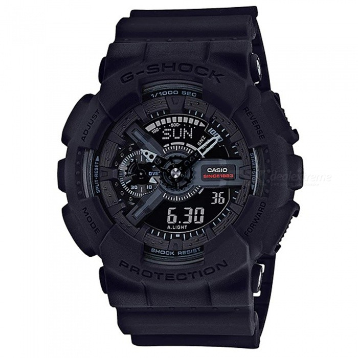 Casio G-Shock GA-135A-1A Master of G Series Wrist Watch - BlackSport Watches<br>ColorBlackModelGA-135A-1AQuantity1 pieceShade Of ColorBlackCasing MaterialResinWristband MaterialResinSuitable forAdultsGenderMenStyleWrist WatchTypeCasual watchesDisplayAnalog + DigitalMovementDigitalDisplay Format12/24 hour time formatWater ResistantOthers,200-meter water resistanceDial Diameter5.5 cmDial Thickness1.69 cmWristband Length22 cmBand Width2.17 cmBatteryCR1220Packing List1 x Watch1 x Guide<br>