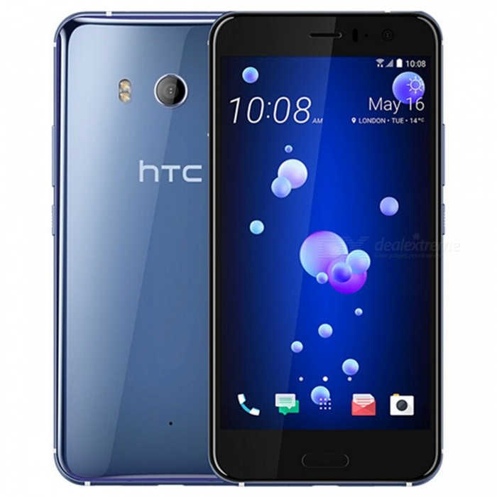 HTC U11 U-3U Mobile Phone with 6GB RAM 128GB ROM - SilverAndroid Phones<br>ColorSilverBrandHTCModelU11 U-3UQuantity1 setMaterialGlass + AluminumShade Of ColorSilverTypeBrand NewPower AdapterOthers,N/AHousing Case MaterialAluminumTime of Release2017.5Network Type2G,3G,4GBand Details2G bands: GSM 850 / 900 / 1800 / 1900 - SIM 1 &amp; SIM 2 (dual-SIM model only);  3G bands: HSDPA 850 / 900 / 1900 / 2100;  4G bands: LTE band 1(2100), 3(1800), 4(1700/2100), 5(850), 7(2600), 8(900), 12(700), 17(700), 20(800), 28(700), 32(1500), 38(2600), 39(1900), 40(2300), 41(2500)Data TransferGPRS,EDGE,LTEWLAN Wi-Fi 802.11 a,b,g,n,acSIM Card TypeNano SIMSIM Card Quantity2Network StandbyDual Network StandbyGPSYes,A-GPSNFCYesBluetooth VersionBluetooth V4.2Operating SystemOthers,Android 7.1.1 (Nougat)CPU ProcessorQualcomm Snapdragon 835 MSM8998CPU Core QuantityOcta-CoreGPUQualcomm Adreno 540Language-Available Memory128GB ROMMemory CardSupports TF CardMax. Expansion SupportedUp to 2TBSize Range5.5 inches &amp; OverTouch Screen TypeCapacitive ScreenScreen Resolution2560*1440MultitouchOthers,YesScreen Size ( inches)5.5Camera type2 x CamerasCamera Pixel12.0MPFront Camera Pixels16.0 MPFlashYesTalk Time24.5 hourStandby Time336 hourBattery Capacity3000 mAhQuick ChargeQC 3.0featuresWi-Fi,GPS,Bluetooth,NFCSensorProximity,Fingerprint authentication sensorWaterproof LevelOthers,IP67I/O InterfaceUSB Type-cReference Websites== Will this mobile phone work with a certain mobile carrier of yours? ==Packing List1 x Cell Phone1 x Power Adapter1 x USB Cable1 x User Manual<br>