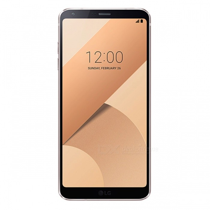LG G6+ H870DSU Dual SIM Mobile Phone with 4GB RAM 128GB ROM - GoldAndroid Phones<br>ColorGoldBrandLGModelG6+Quantity1 setMaterialGorilla Glass + AluminumShade Of ColorGoldTypeBrand NewPower AdapterOthers,-Housing Case MaterialAluminumTime of Release2017Network Type2G,3G,4GBand Details2G bands: GSM 850 / 900 / 1800 / 1900 - SIM 1 &amp; SIM 2 (dual-SIM model only);  3G bands: HSDPA 850 / 900 / 1700(AWS) / 1900 / 2100 4G bands: LTE band 1(2100), 2(1900), 3(1800), 4(1700/2100), 5(850), 7(2600), 8(900), 12(700), 13(700), 17(700), 20(800), 28(700), 38(2600), 40(2300)Data TransferGPRS,EDGEWLAN Wi-Fi 802.11 a,b,g,n,acSIM Card TypeNano SIMSIM Card Quantity2Network StandbyDual Network StandbyGPSYesNFCYesBluetooth VersionBluetooth V4.2Operating SystemOthers,Android 7.0CPU ProcessorQualcomm Snapdragon 821 MSM8996AC ProCPU Core QuantityQuad-CoreGPUQualcomm Adreno 530Language-Available Memory128GB ROMMemory CardSupports Micro SD CardMax. Expansion SupportedUp to 256 GB (uses SIM 2 slotSize Range5.5 inches &amp; OverTouch Screen TypeCapacitive ScreenScreen ResolutionOthers,1440 x 2880pMultitouchOthers,YesScreen Size ( inches)5.7Camera type3 x CamerasCamera PixelOthers,Dual 13.0MPFront Camera Pixels5.0 MPFlashYesTalk Time- hourStandby Time- hourBattery Capacity3300 mAhBattery ModeNon-removablefeaturesWi-Fi,GPS,BluetoothSensorProximity,Fingerprint authentication sensorWaterproof LevelIPX0 (Not Protected)I/O Interface3.5mm,USB Type-cReference Websites== Will this mobile phone work with a certain mobile carrier of yours? ==Packing List1 x Cell Phone1 x Power Adapter1 x USB Cable1 x User Manual<br>